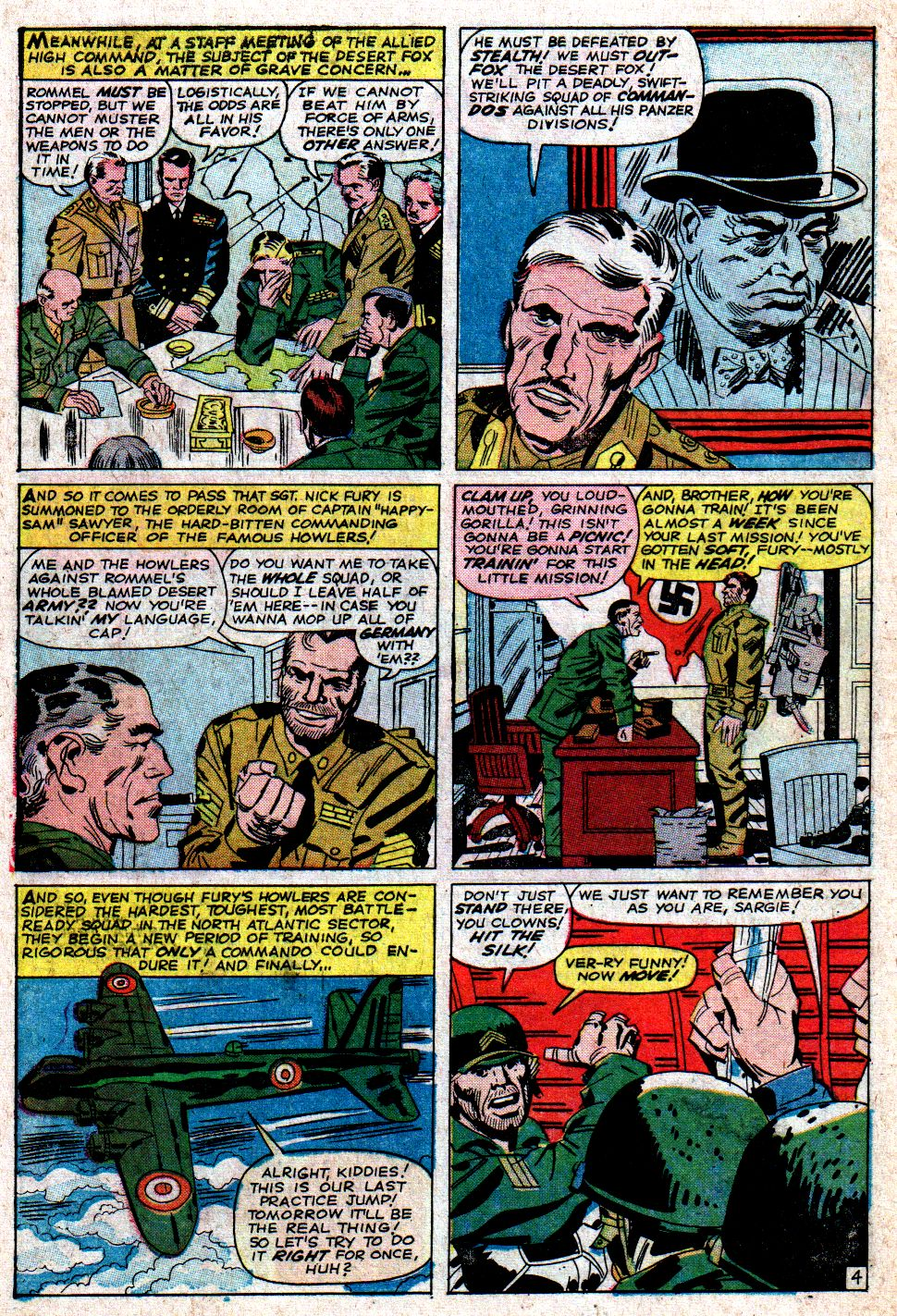 Read online Sgt. Fury comic -  Issue #6 - 6