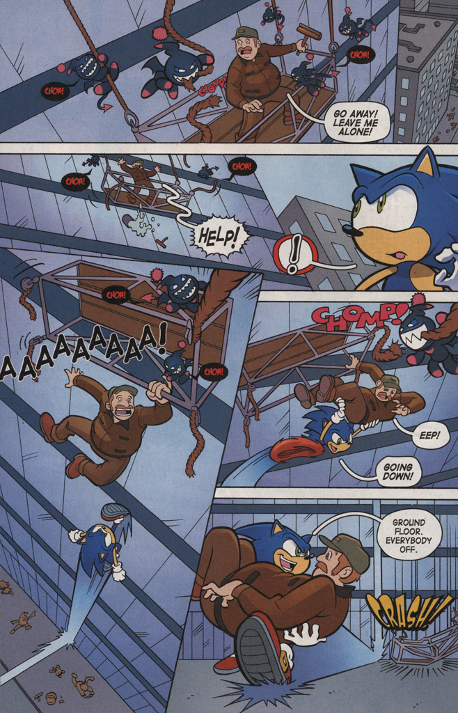 Read online Sonic X comic -  Issue #6 - 10
