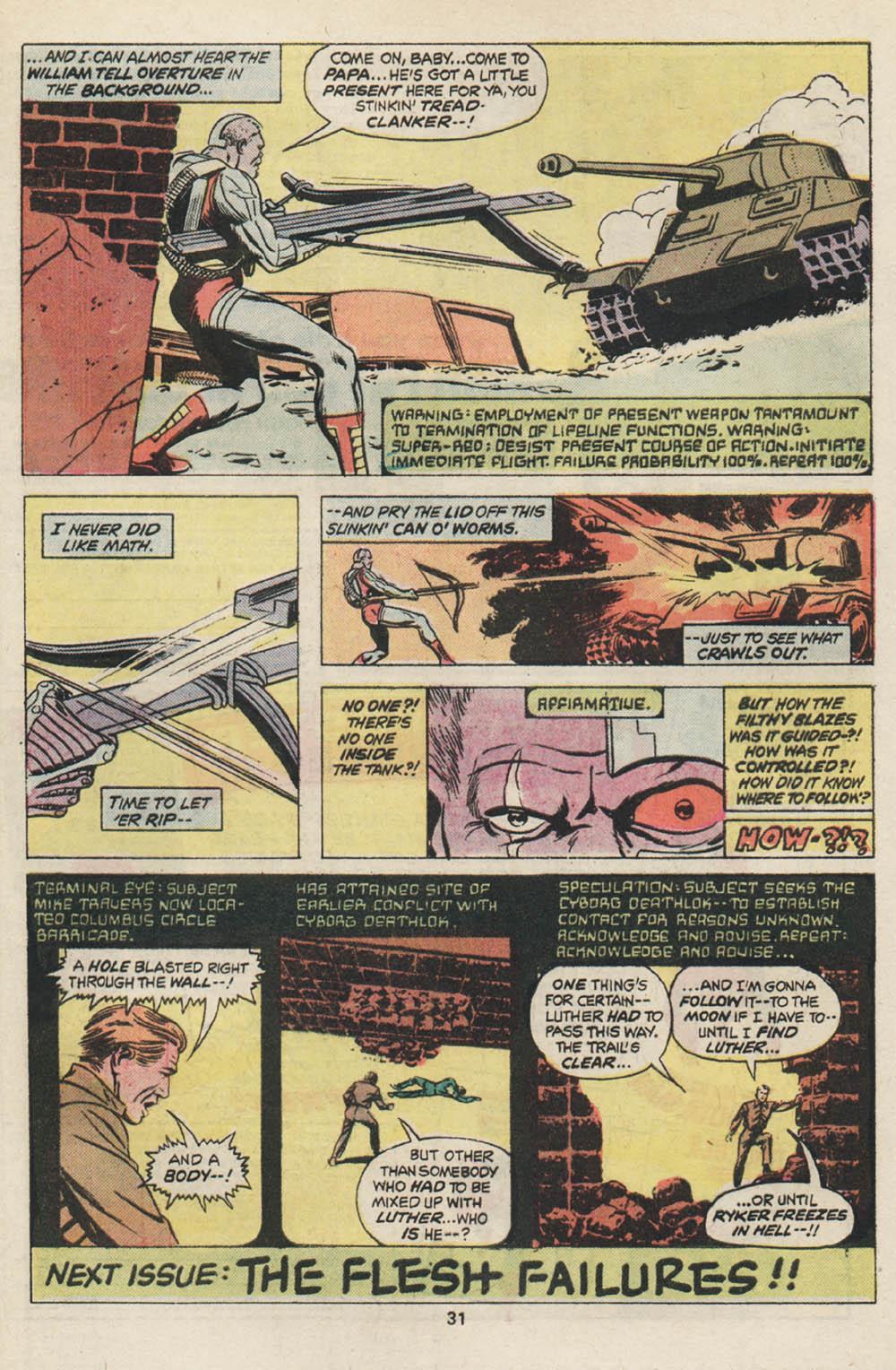 Read online Astonishing Tales (1970) comic -  Issue #30 - 19