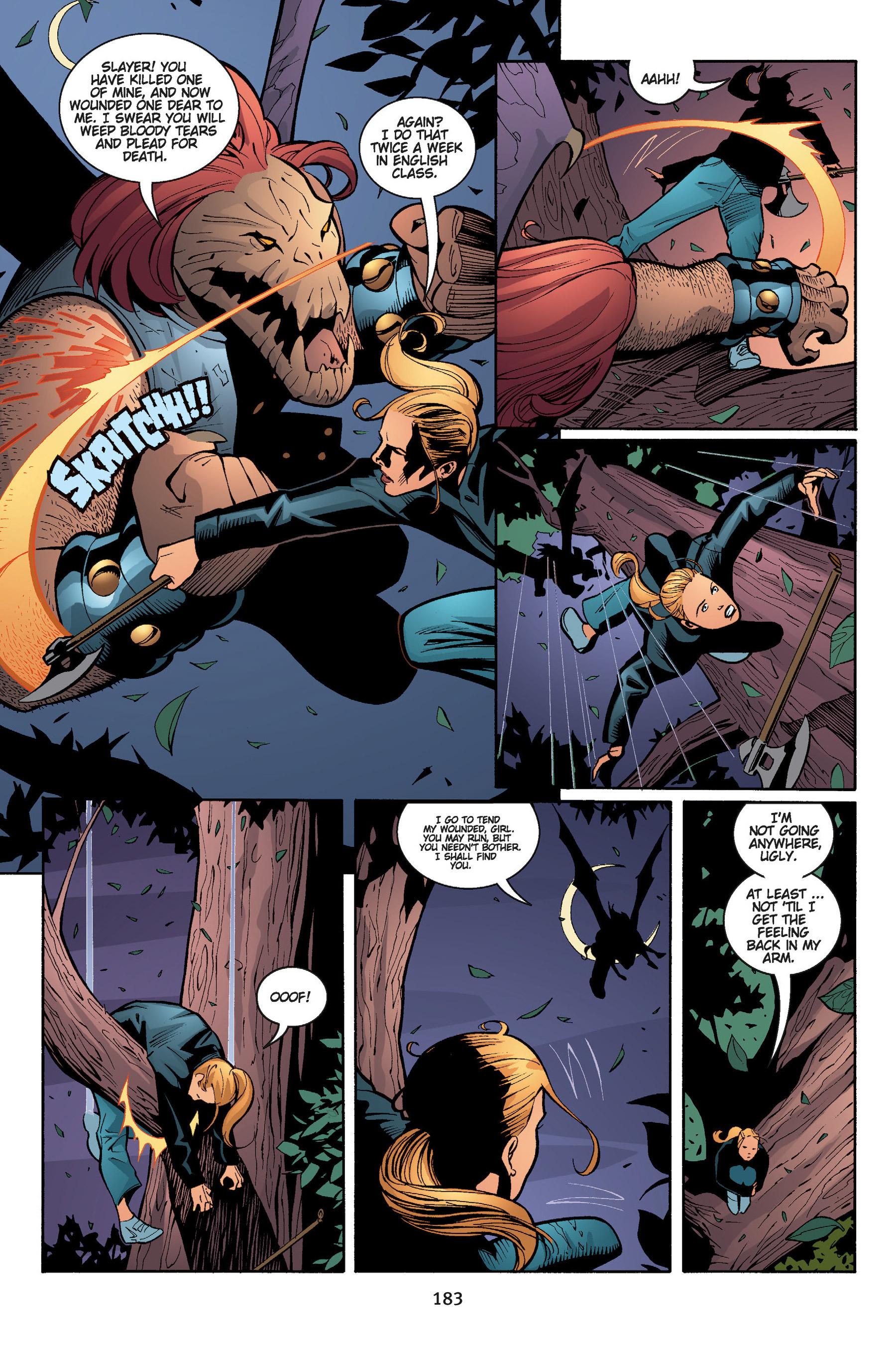 Read online Buffy the Vampire Slayer: Omnibus comic -  Issue # TPB 5 - 183