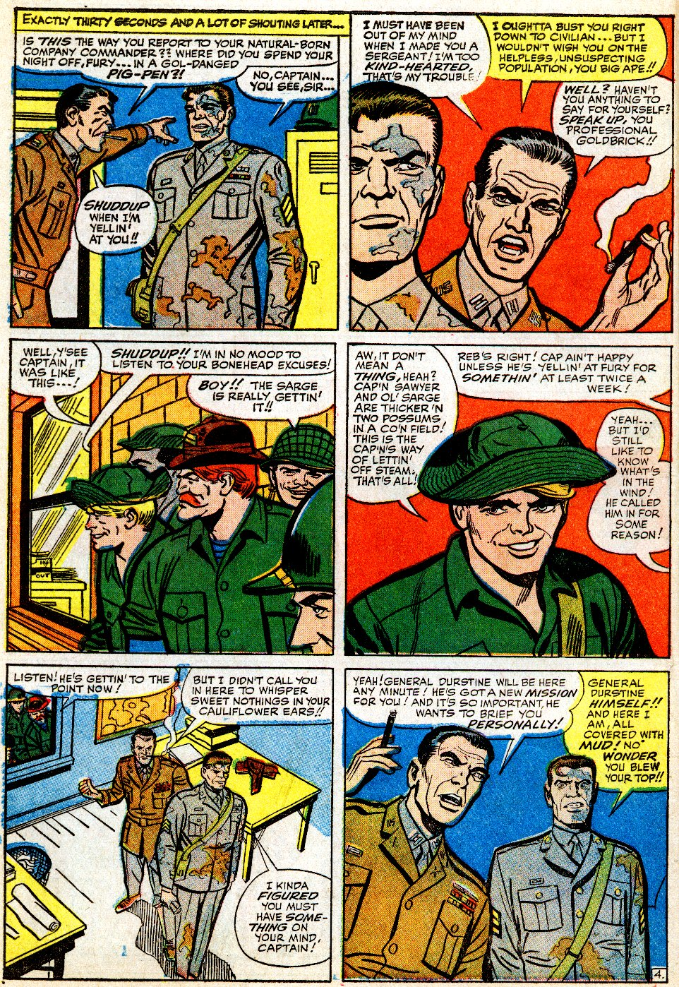Read online Sgt. Fury comic -  Issue #9 - 6