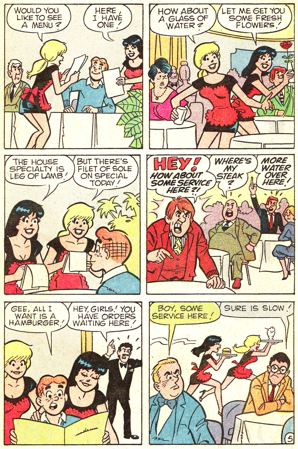 Read online Archie's Girls Betty and Veronica comic -  Issue #313 - 7
