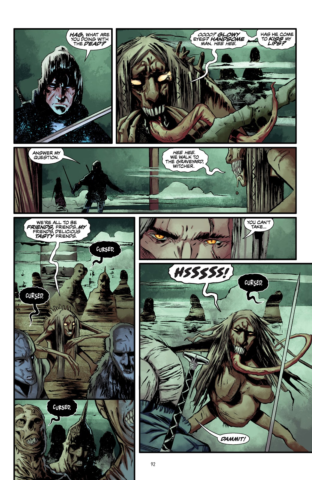 Read online The Witcher Omnibus comic -  Issue # TPB (Part 1) - 90