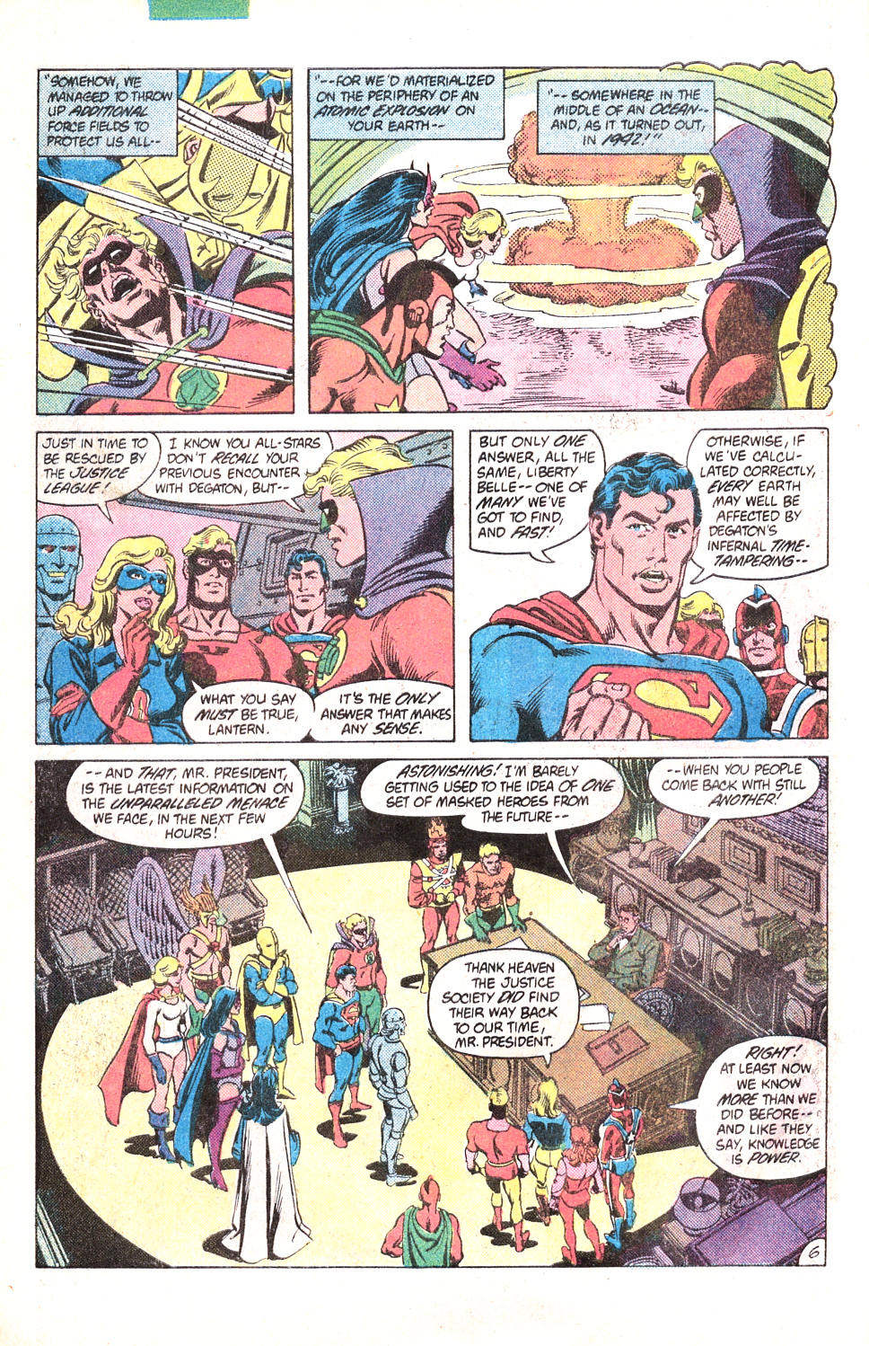 Read online All-Star Squadron comic -  Issue #15 - 9