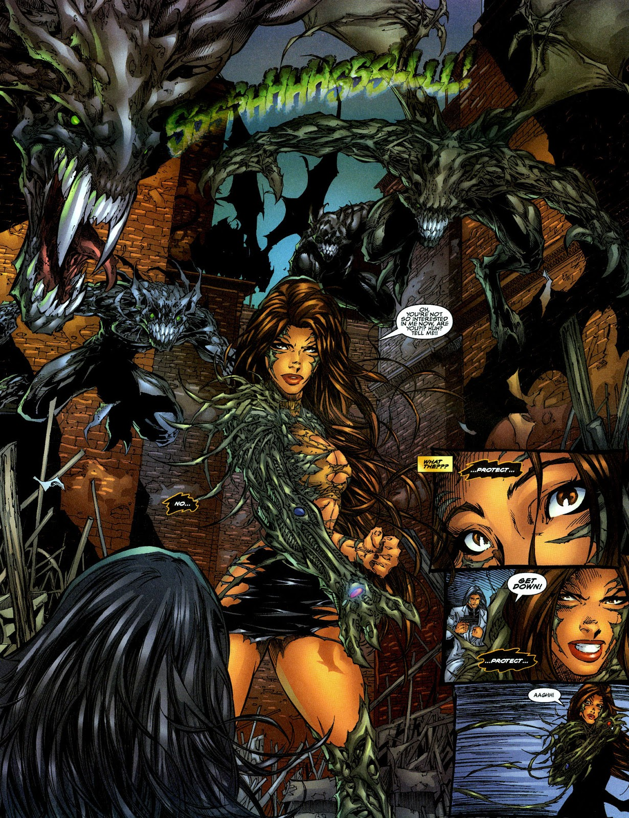 Read online The Darkness (1996) comic -  Issue #0 - 19