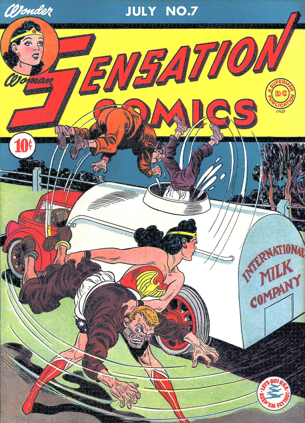 Read online Sensation (Mystery) Comics comic -  Issue #7 - 1