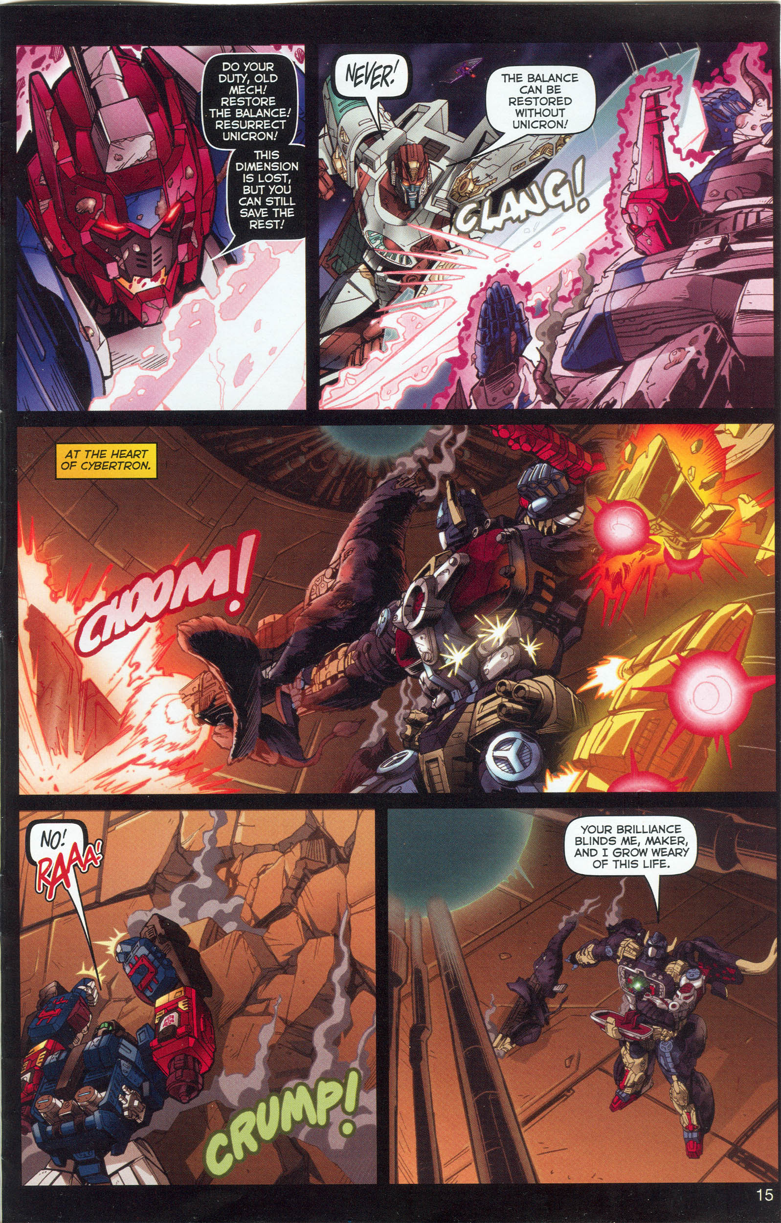 Read online Transformers: Collectors' Club comic -  Issue #6 - 15
