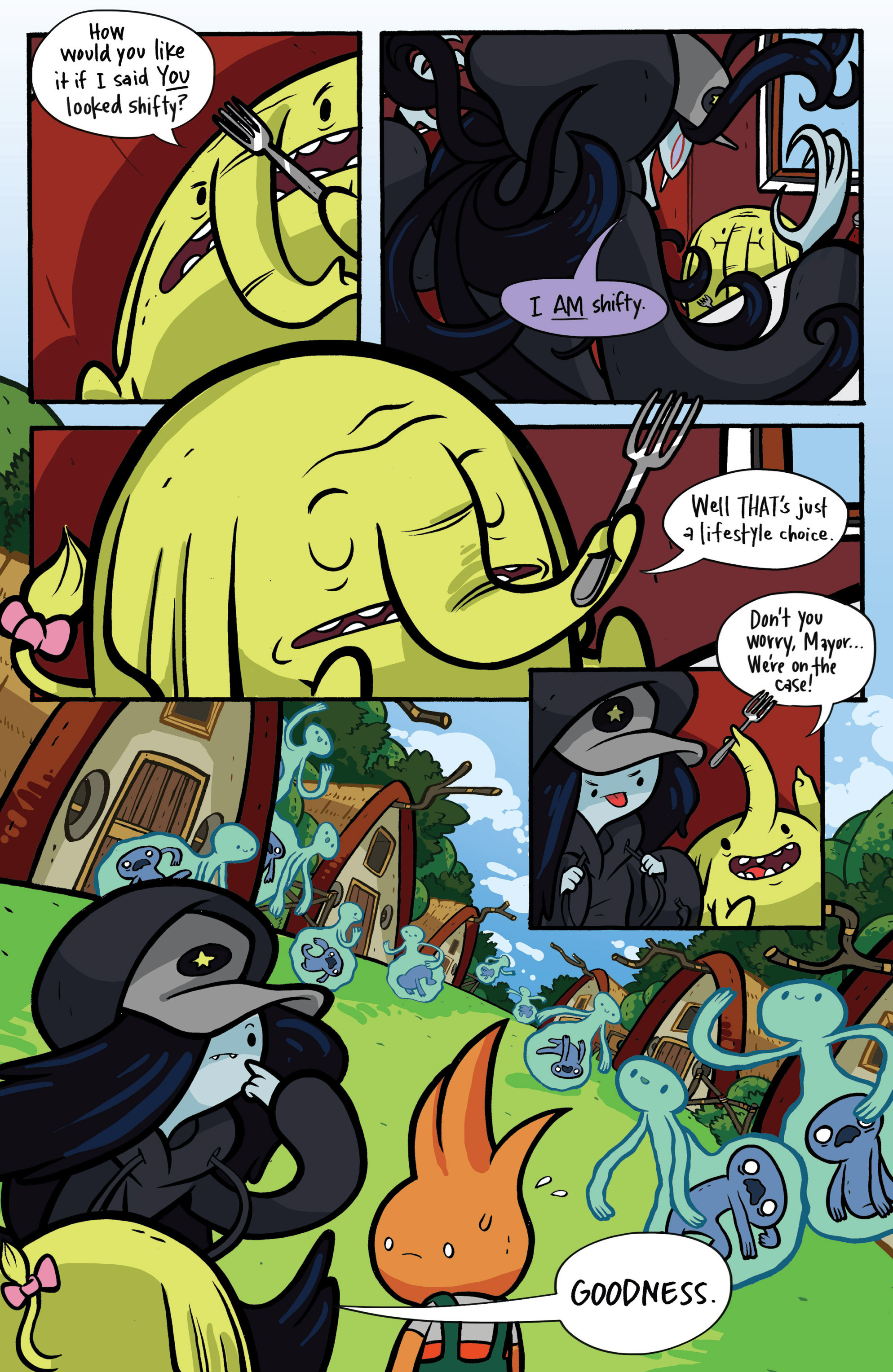 Read online Adventure Time: Candy Capers comic -  Issue #2 - 13
