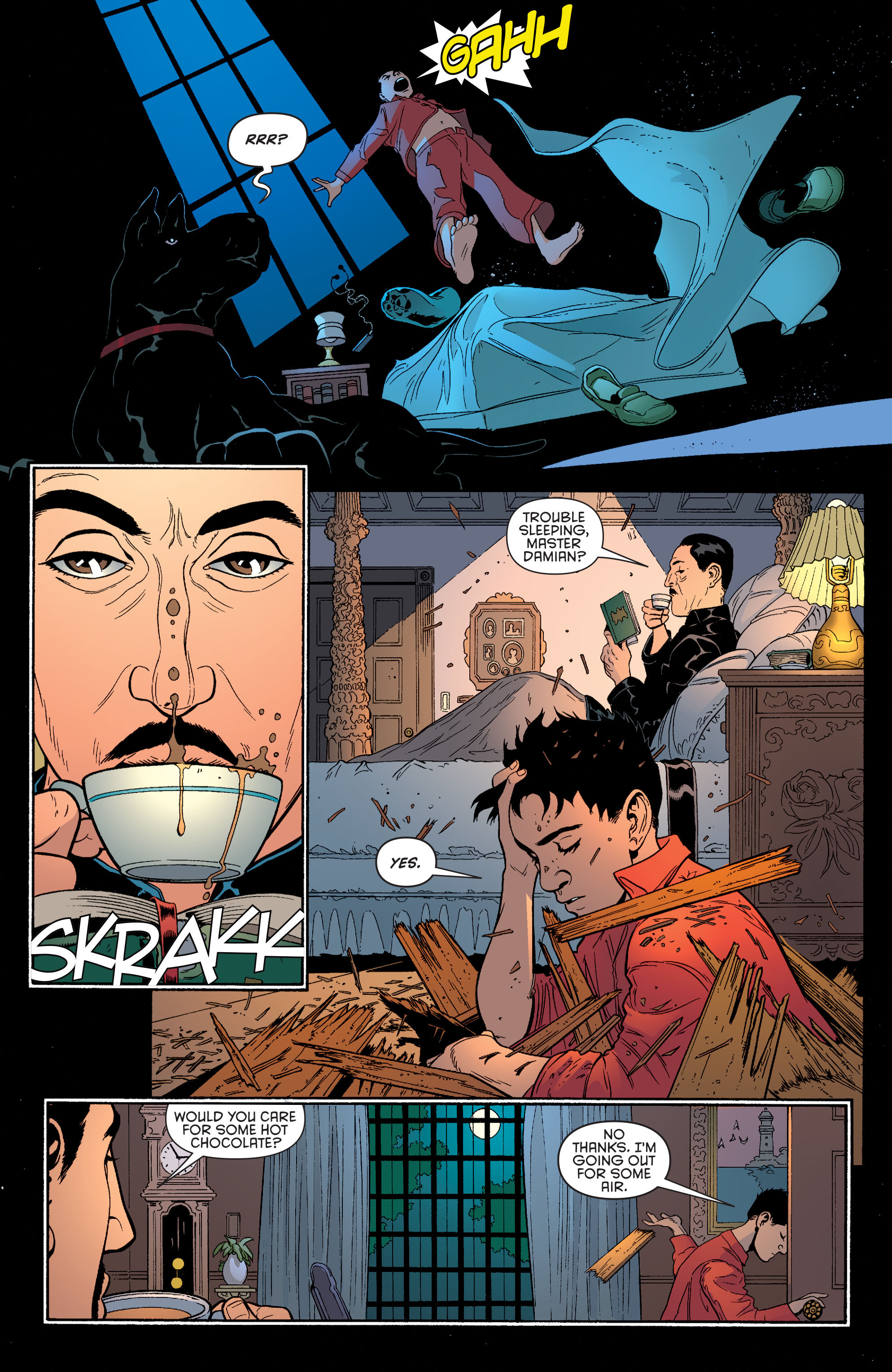 Read online Batman and Robin (2011) comic -  Issue #38 - 11