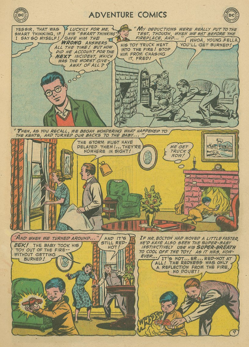 Read online Adventure Comics (1938) comic -  Issue #221 - 10