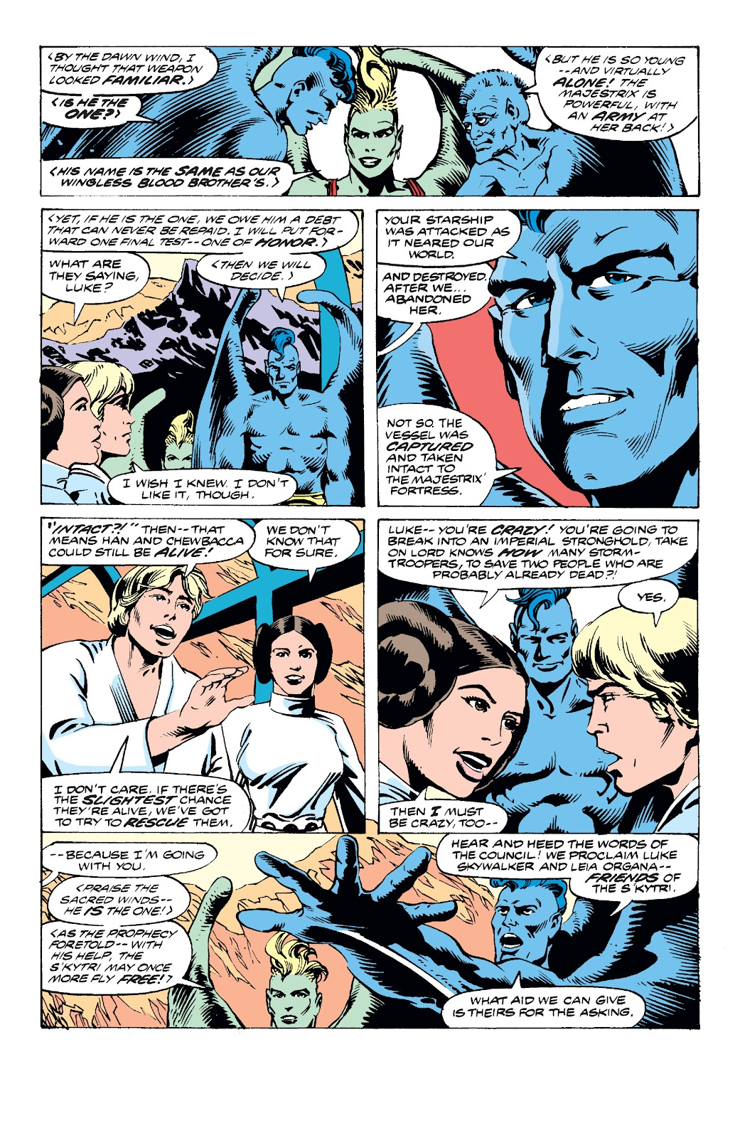 Read online Star Wars Legends: The Original Marvel Years - Epic Collection comic -  Issue # TPB 2 (Part 3) - 23