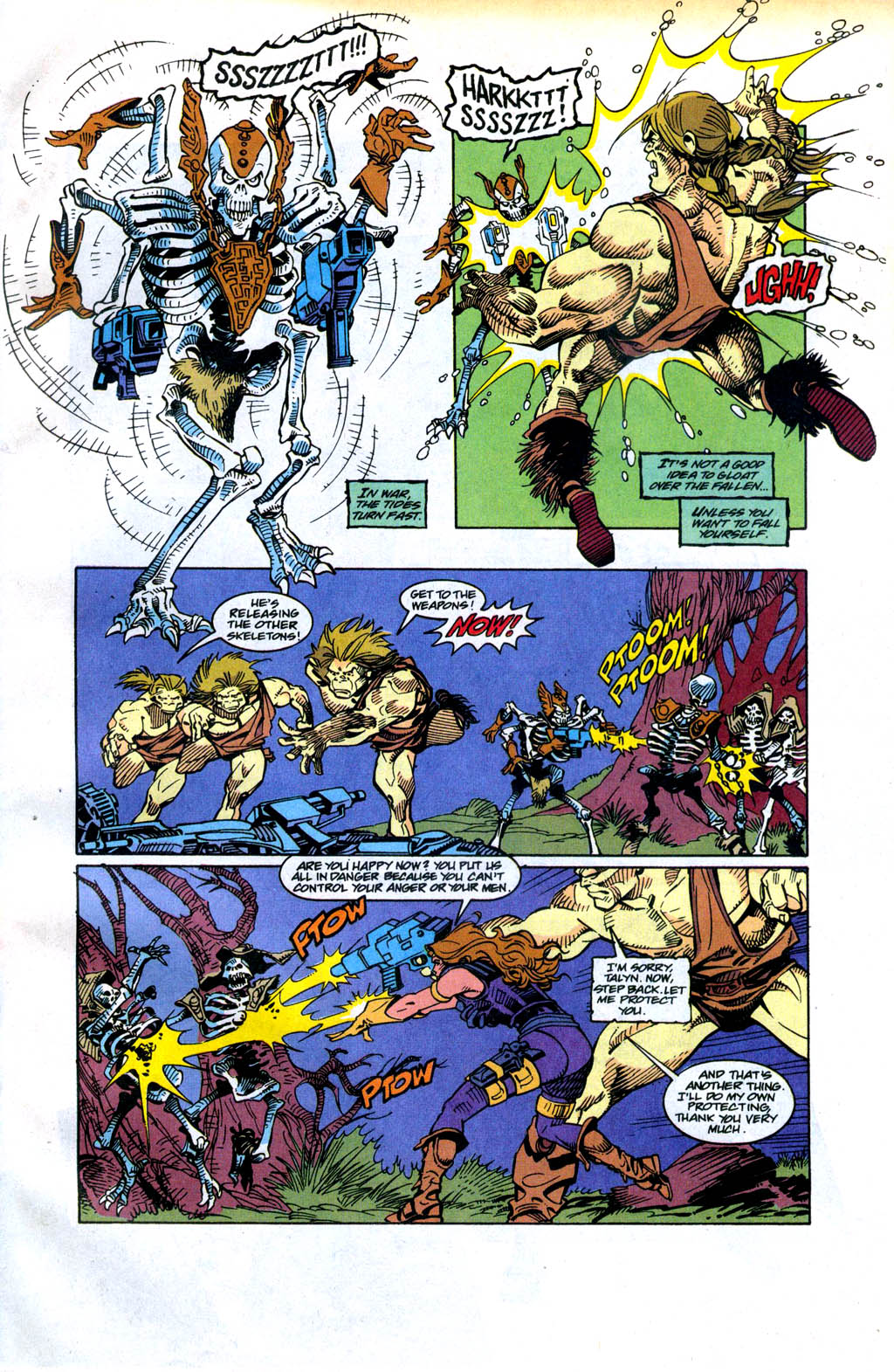 Skeleton Warriors Issue #4 #4 - English 9