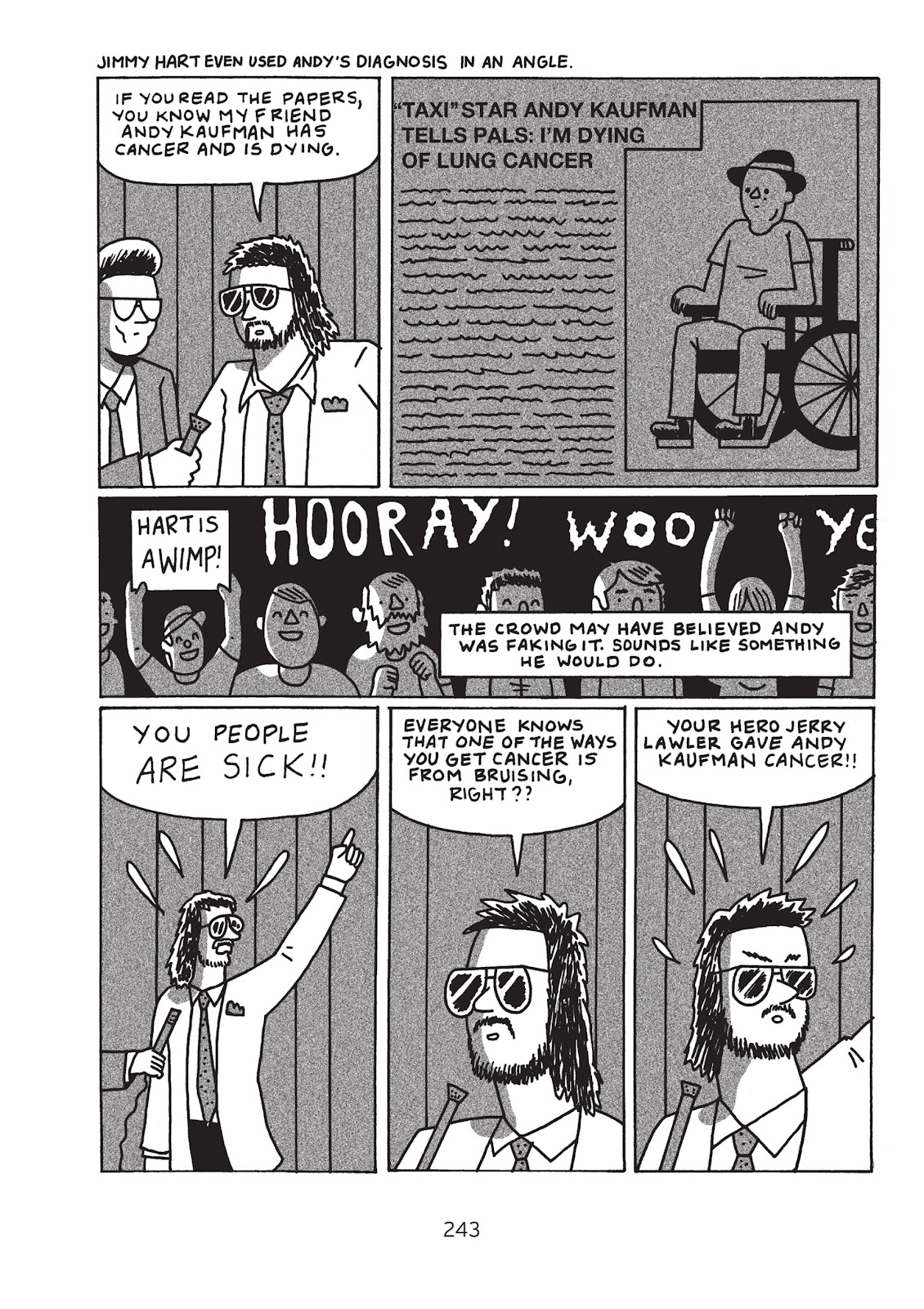 Read online Is This Guy For Real?: The Unbelievable Andy Kaufman comic -  Issue # TPB (Part 3) - 48