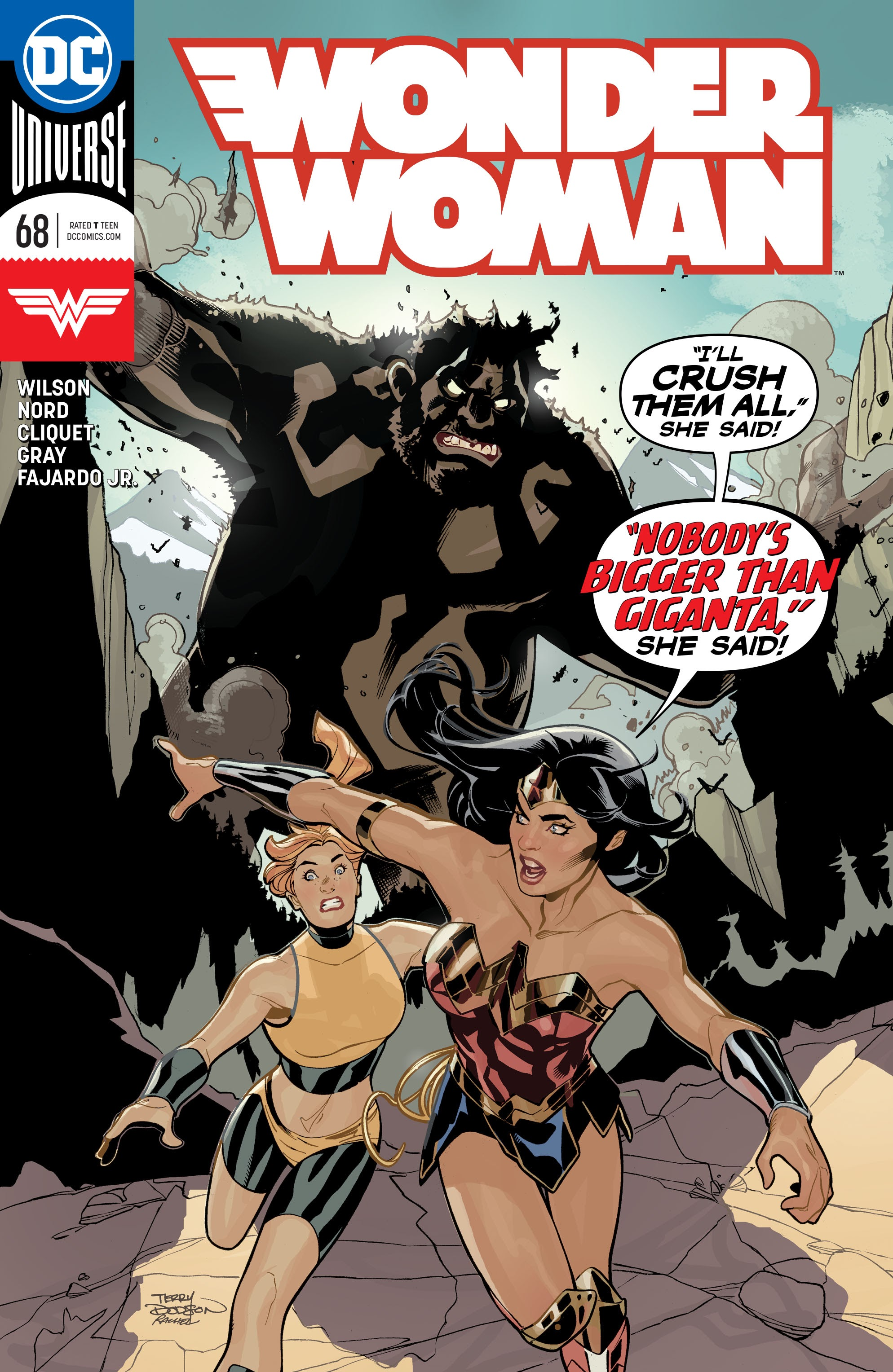Wonder Woman (2016) 68 Page 1