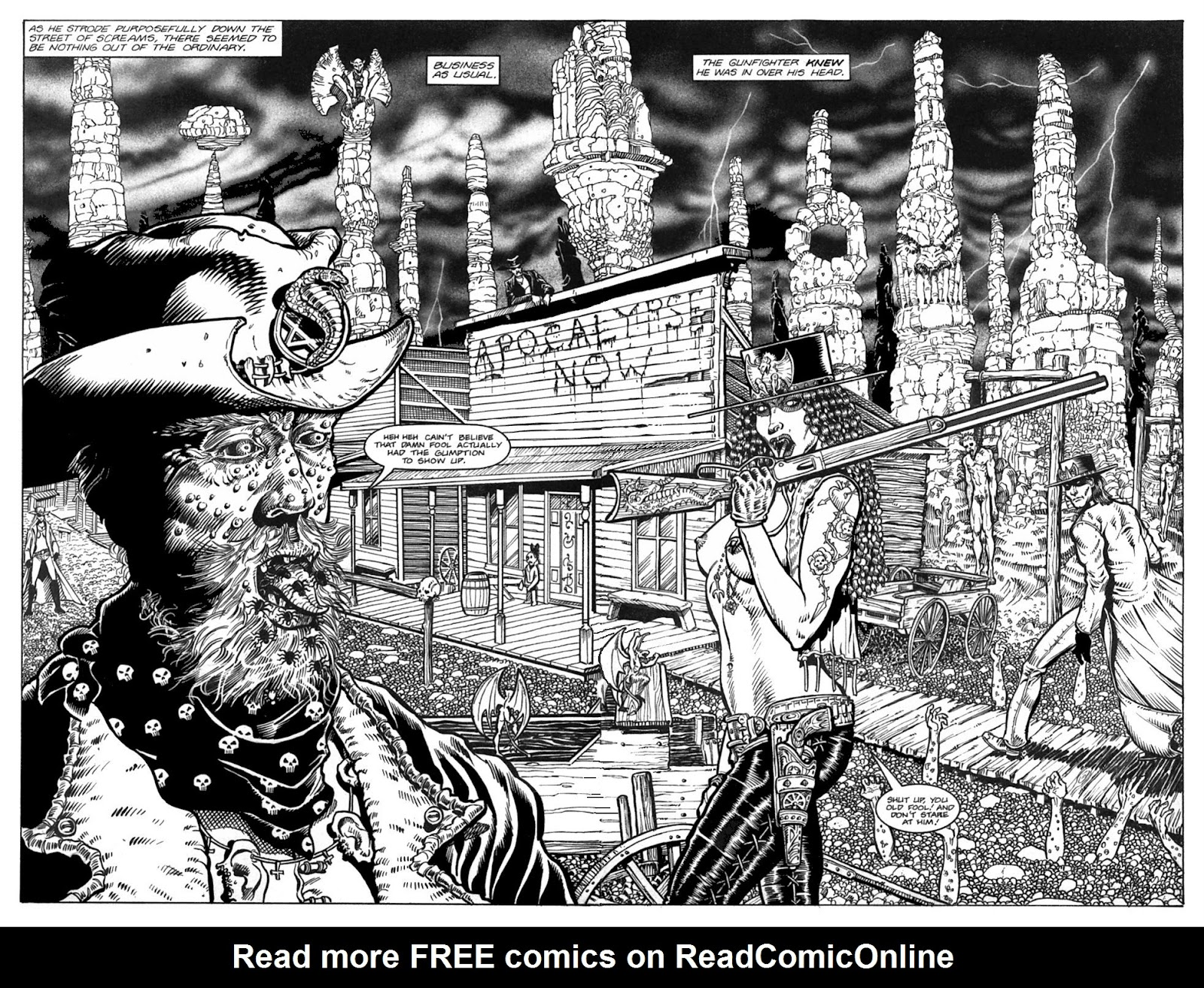 Read online Gunfighters in Hell comic -  Issue #3 - 17