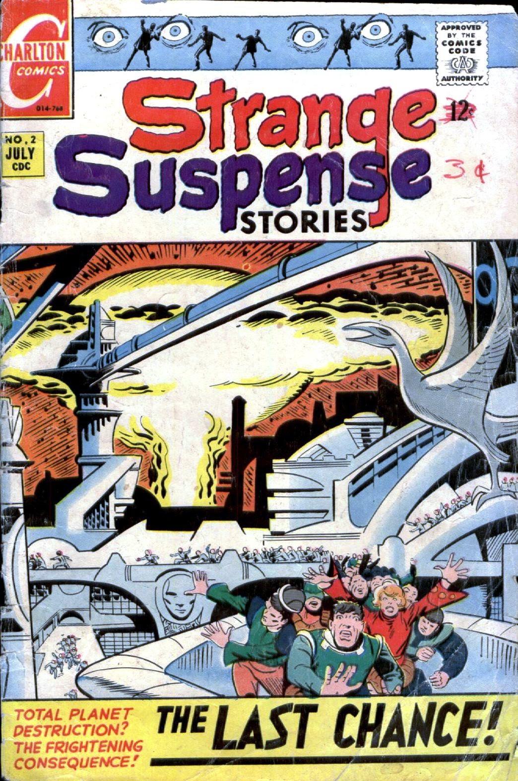 Strange Suspense Stories (1967) issue 2 - Page 1