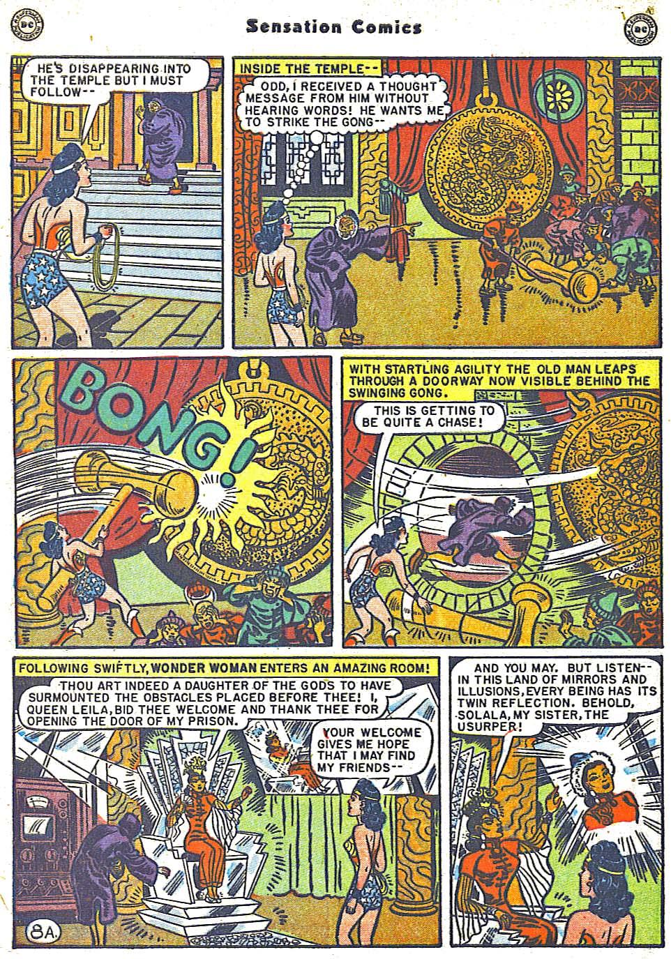 Read online Sensation (Mystery) Comics comic -  Issue #79 - 10