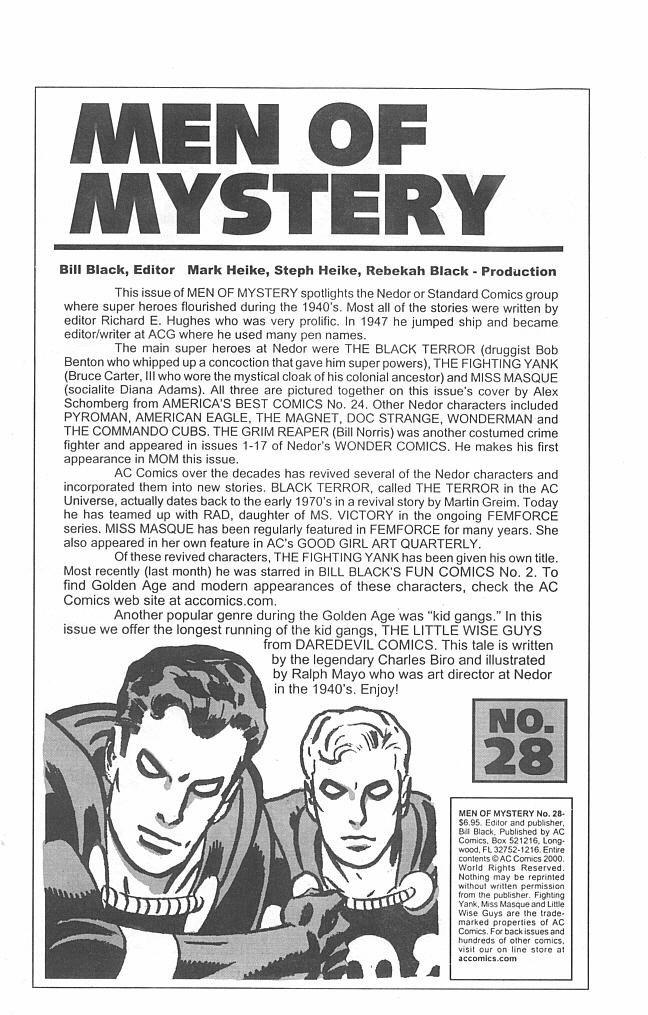 Read online Men of Mystery Comics comic -  Issue #28 - 3