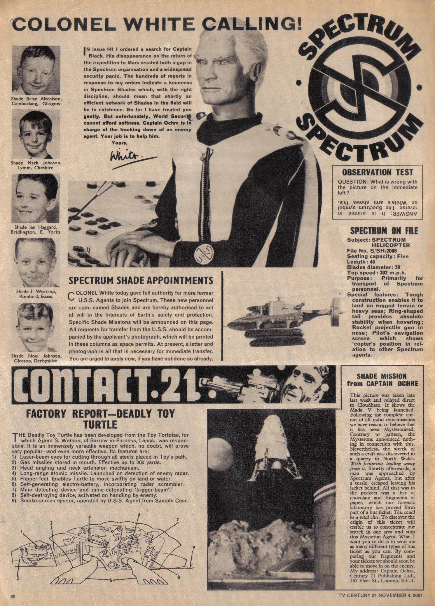 Read online TV Century 21 (TV 21) comic -  Issue #146 - 19