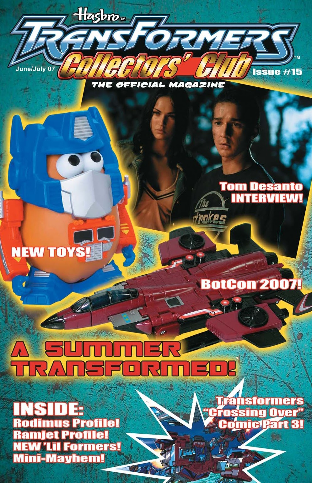 Read online Transformers: Collectors' Club comic -  Issue #15 - 1
