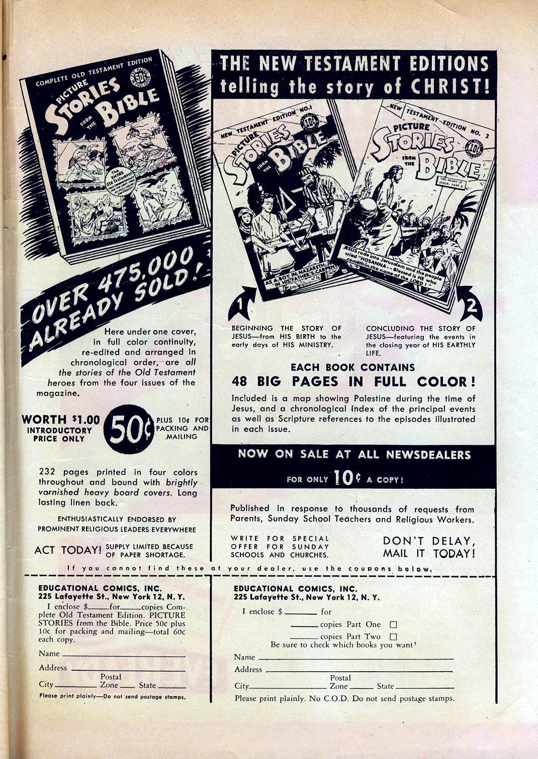 Read online Sensation (Mystery) Comics comic -  Issue #45 - 51