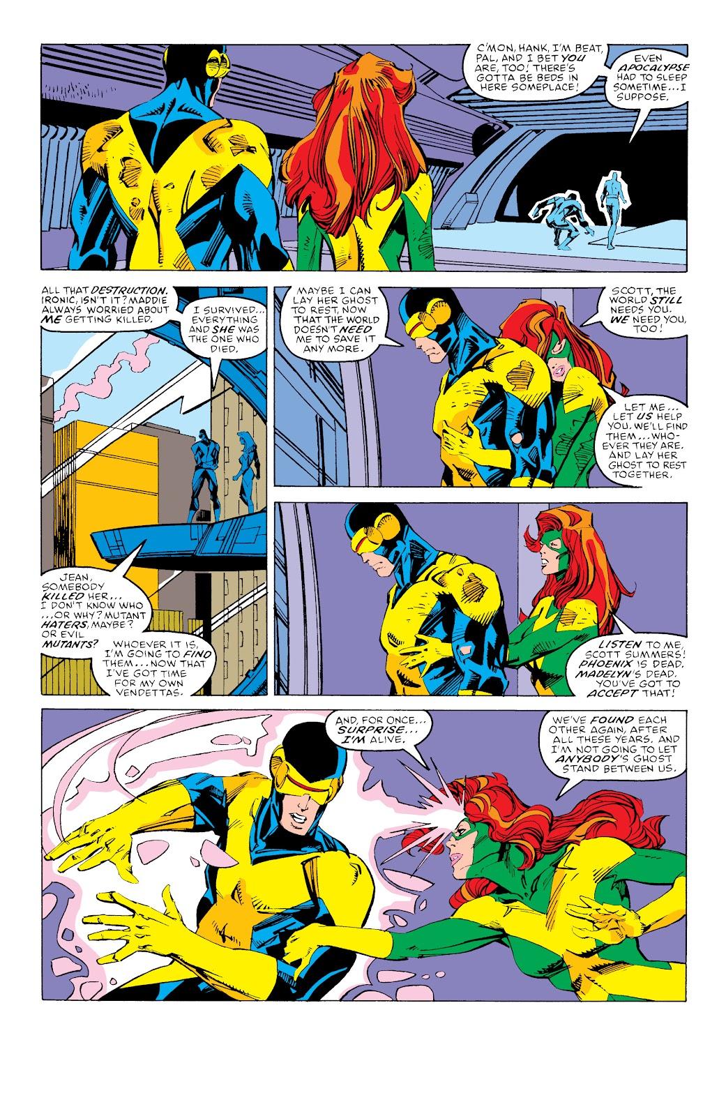 Read online X-Men Milestones: Fall of the Mutants comic -  Issue # TPB (Part 3) - 64