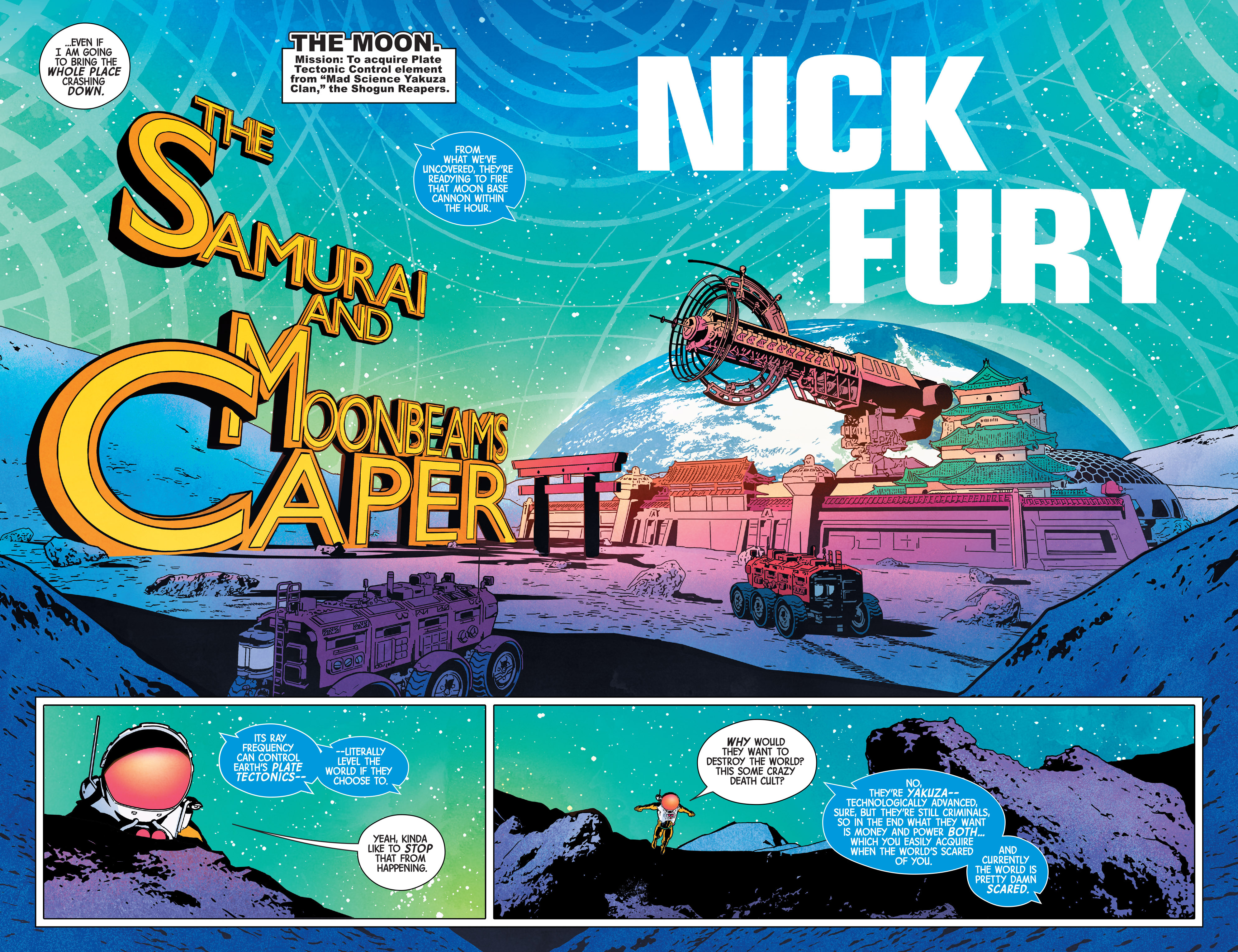 Read online Nick Fury comic -  Issue #2 - 4
