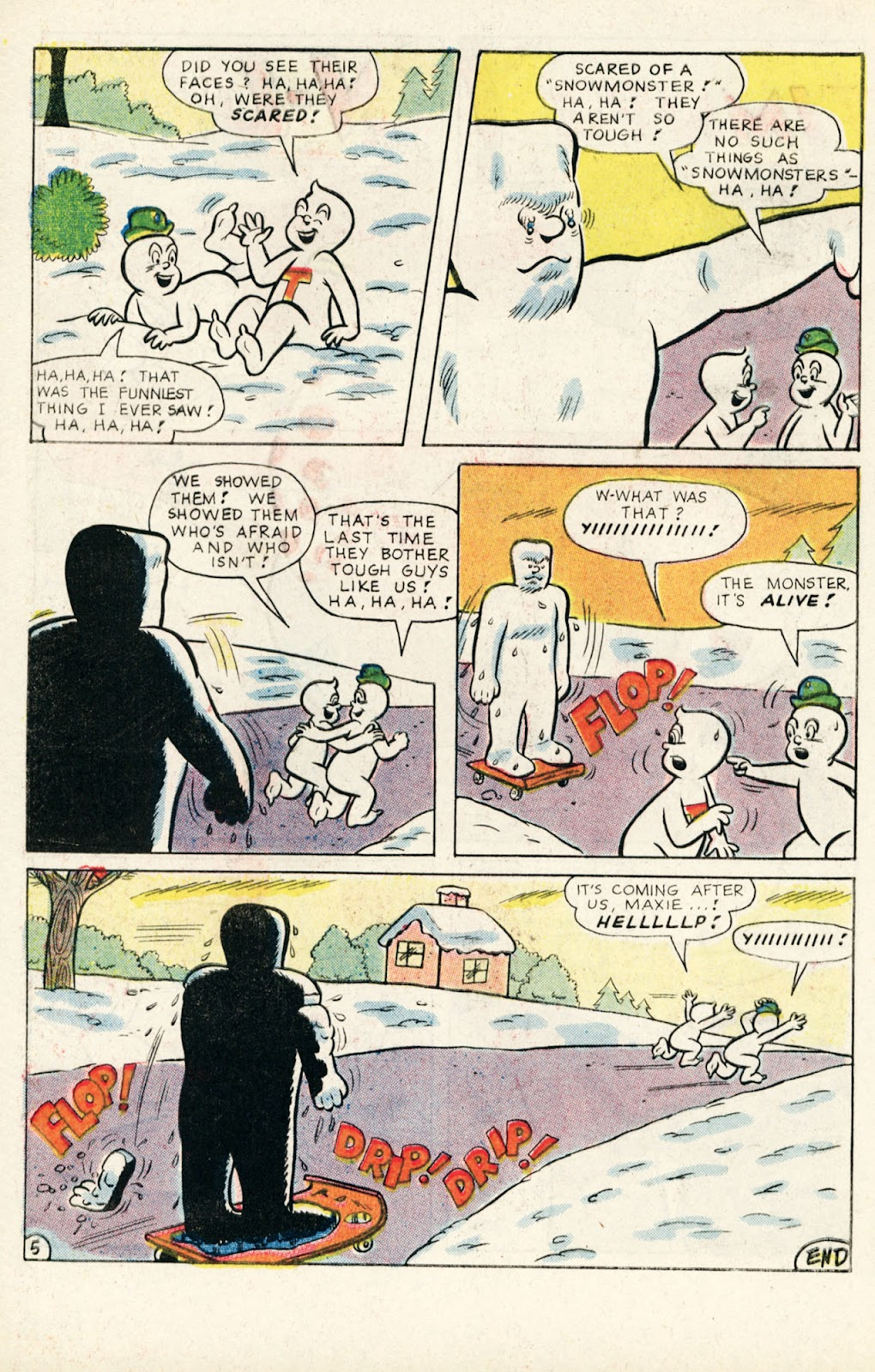 Read online Timmy the Timid Ghost comic -  Issue #10 - 32