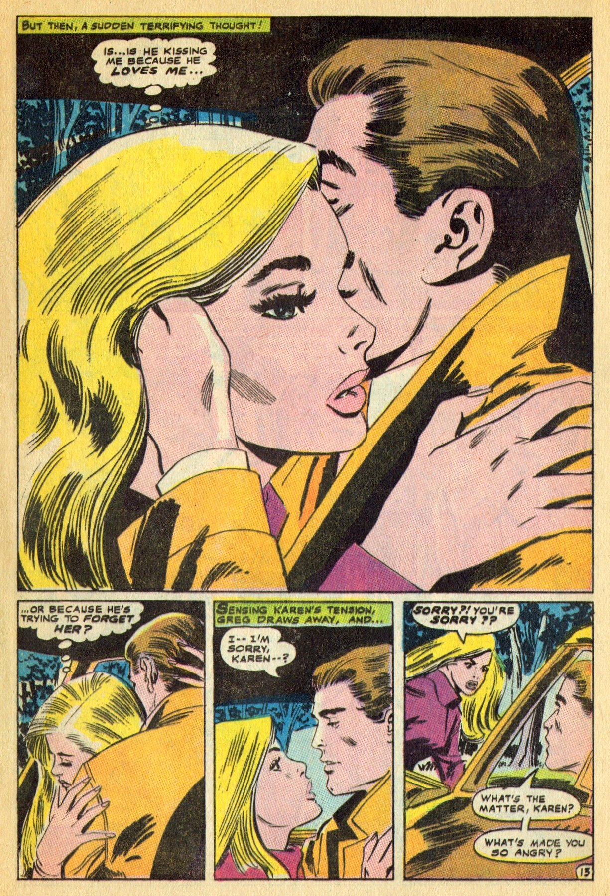 Read online Secret Hearts comic -  Issue #134 - 33