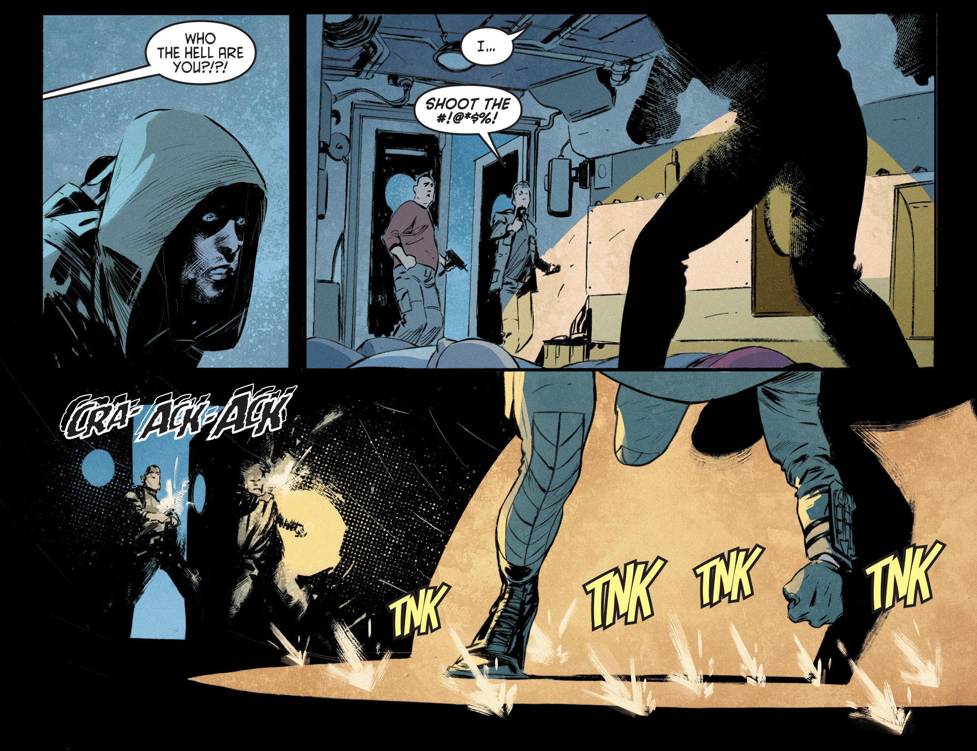 Read online Arrow [II] comic -  Issue #12 - 14