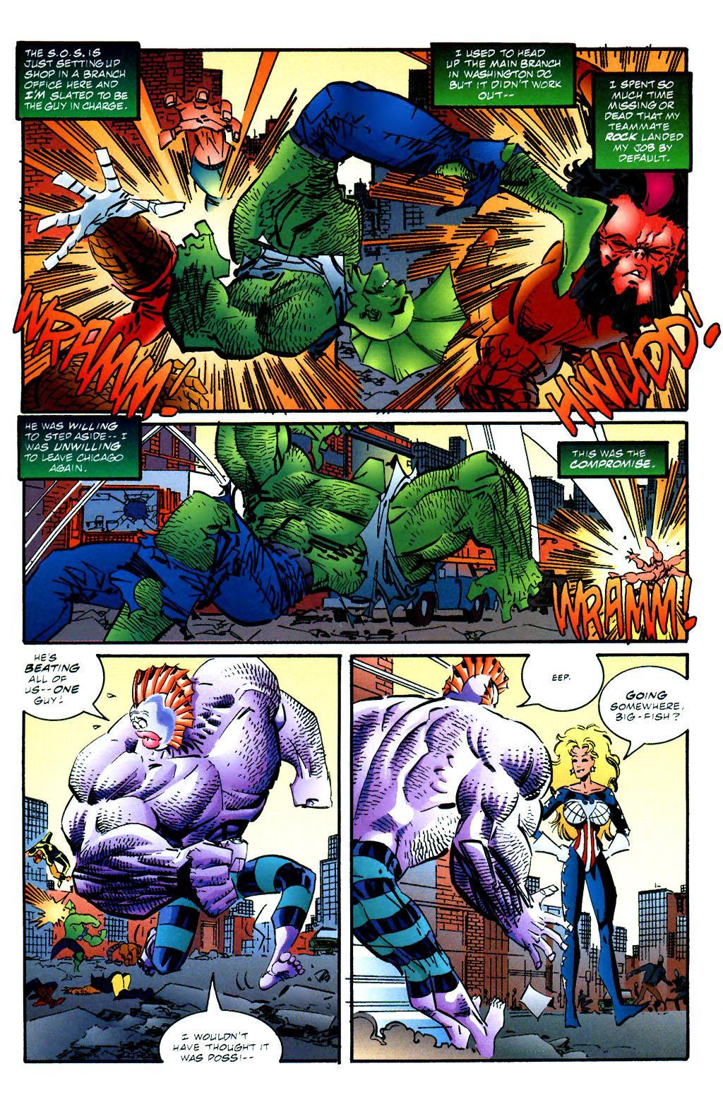 The Savage Dragon (1993) Issue #59 #62 - English 5