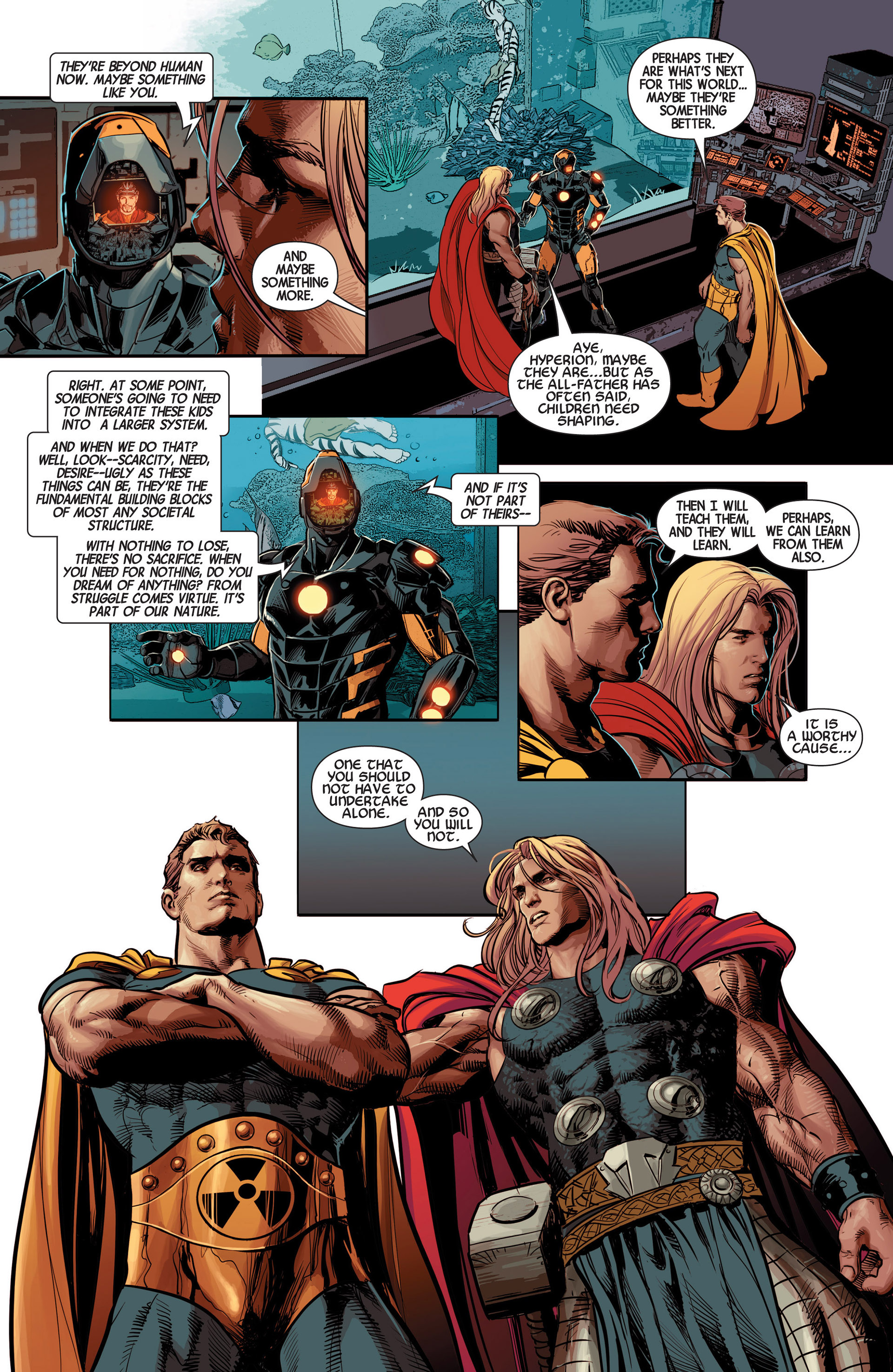 Read online Avengers (2013) comic -  Issue #12 - 7