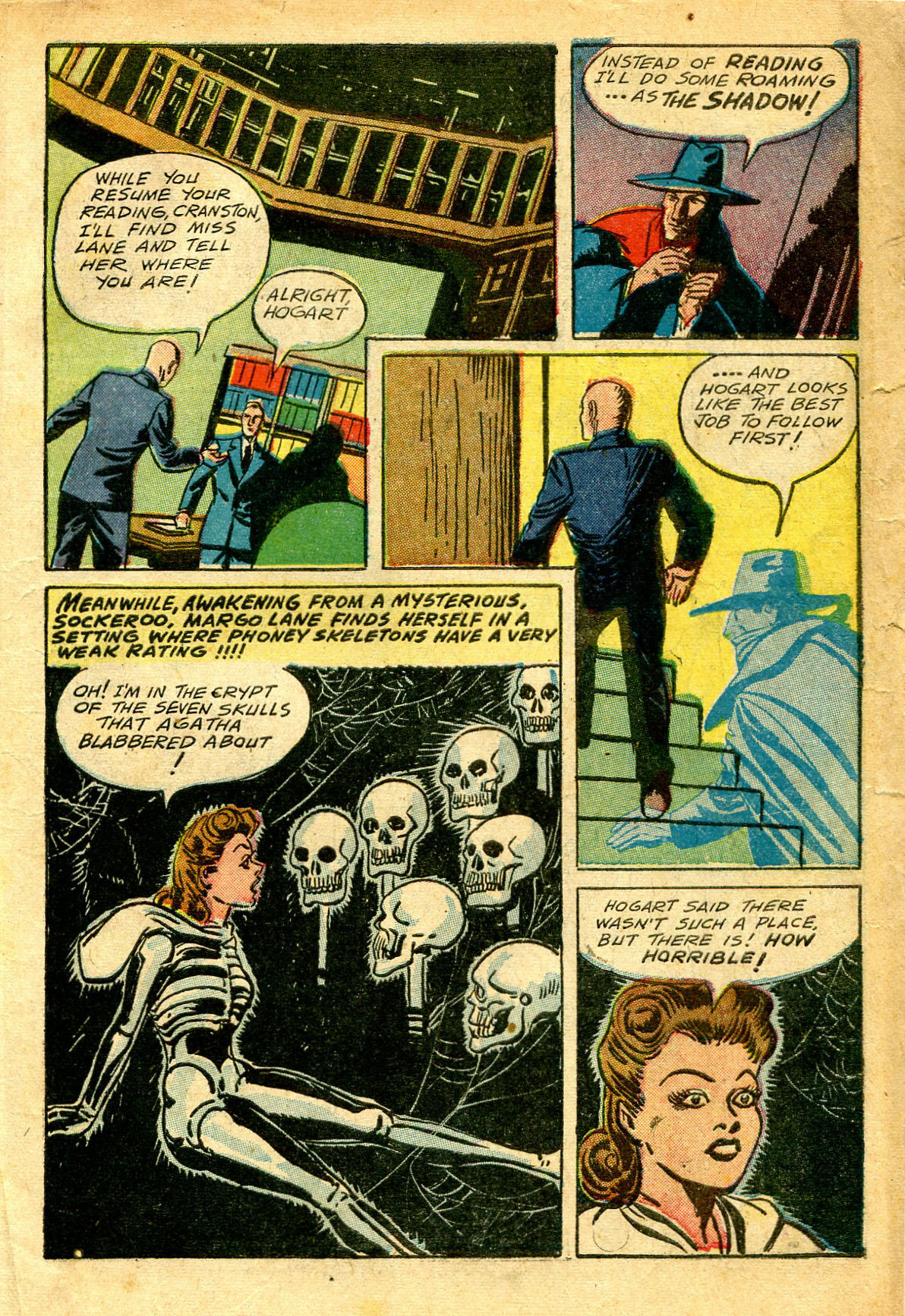 Read online Shadow Comics comic -  Issue #43 - 13