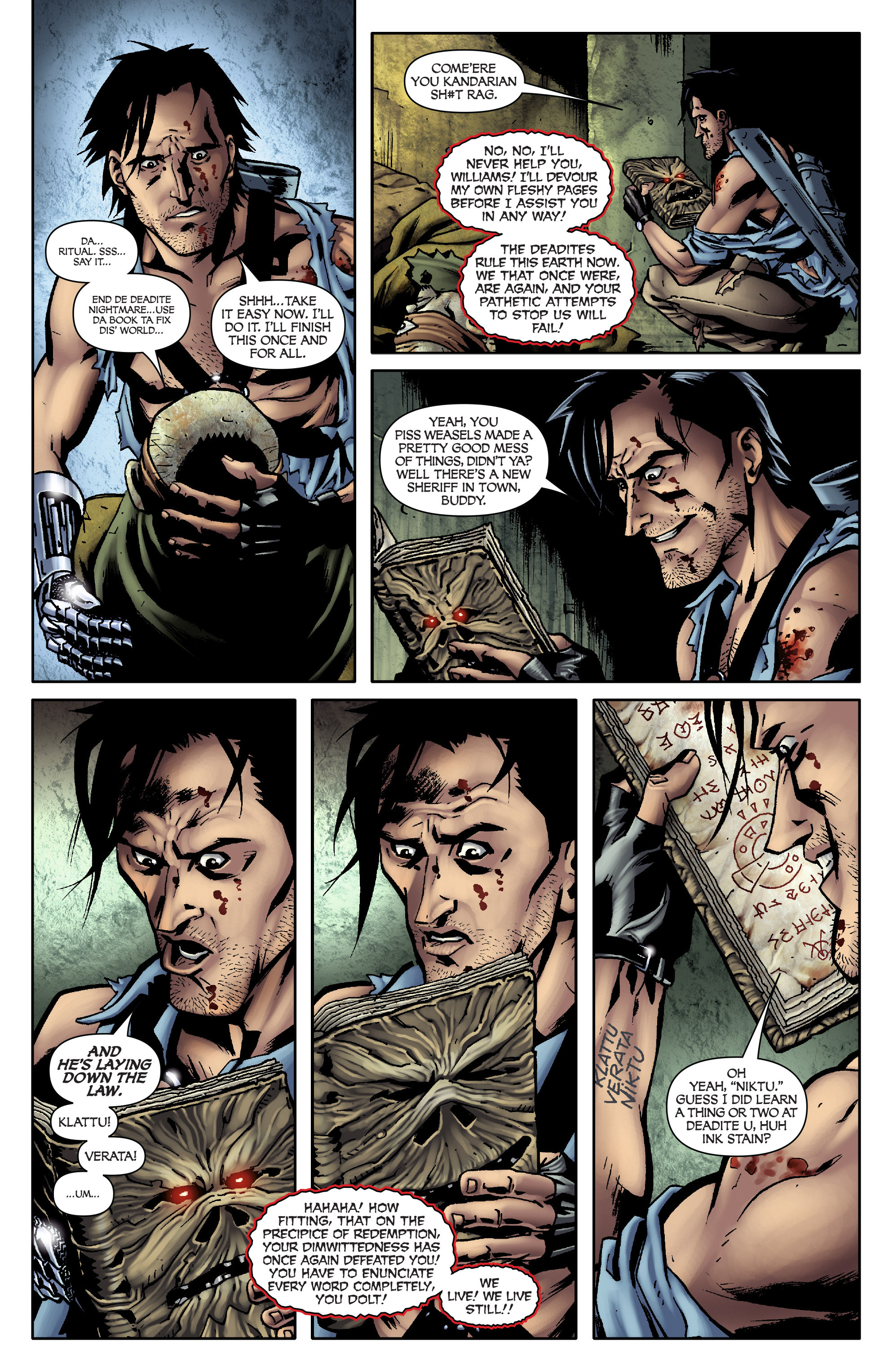 Read online Army of Darkness: From the Ashes comic -  Issue #Army of Darkness: From the Ashes TPB - 99