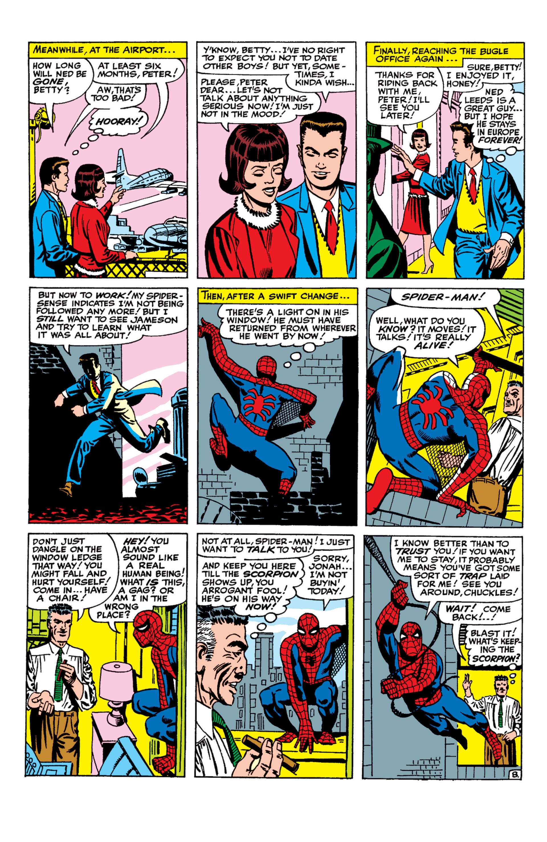 The Amazing Spider-Man (1963) 20 Page 8
