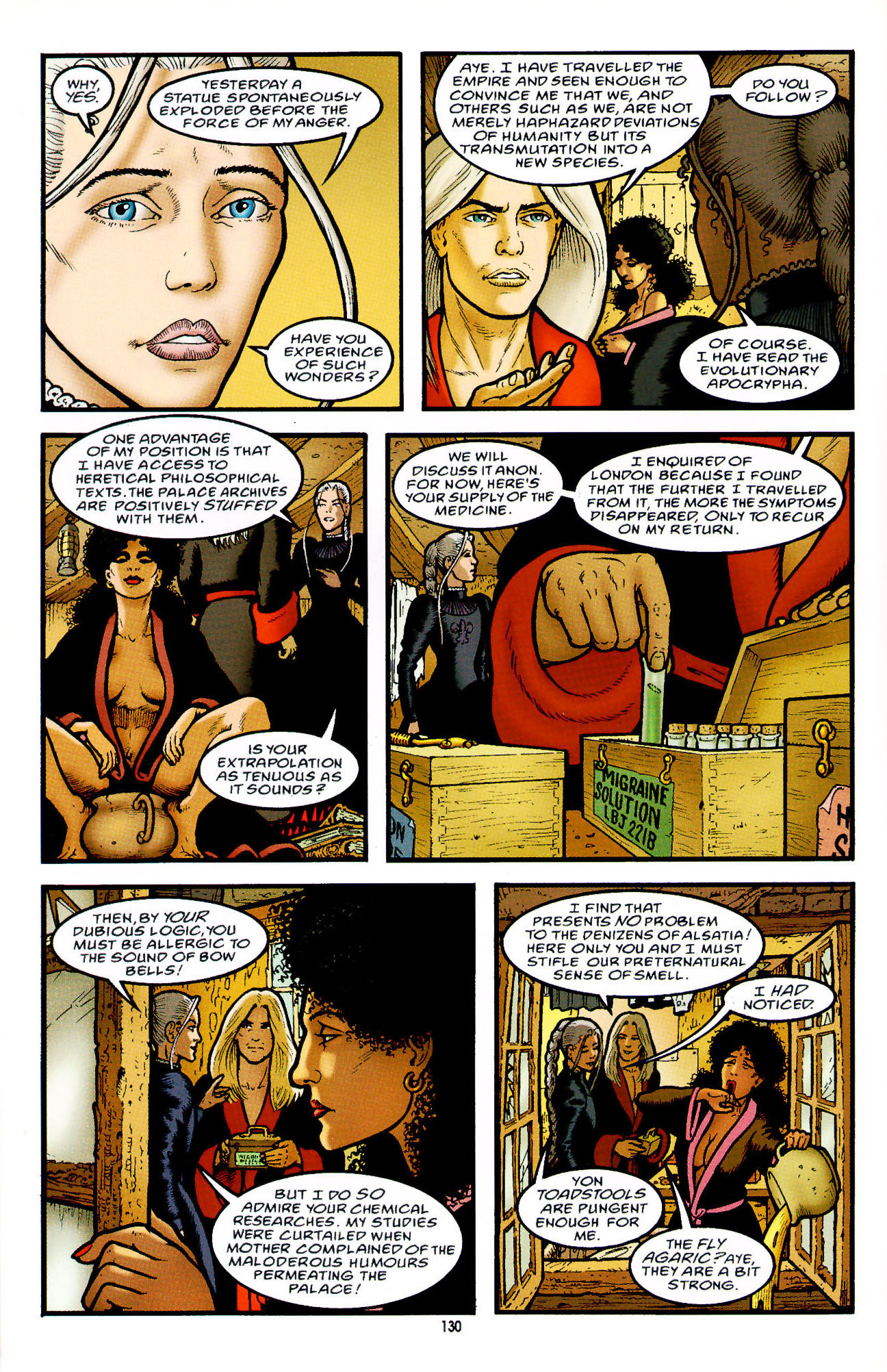 Read online Heart of Empire comic -  Issue #5 - 6