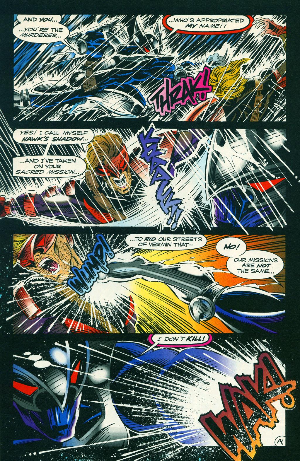 Read online ShadowHawk comic -  Issue #6 - 19