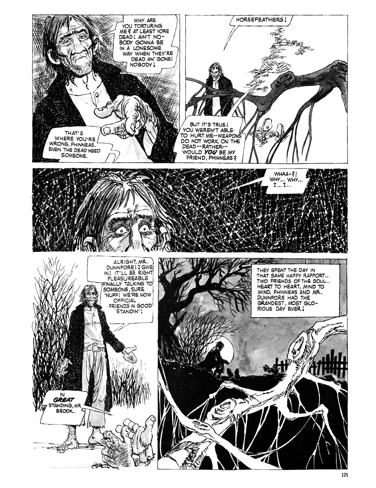 Read online Eerie Archives comic -  Issue # TPB 9 - 126