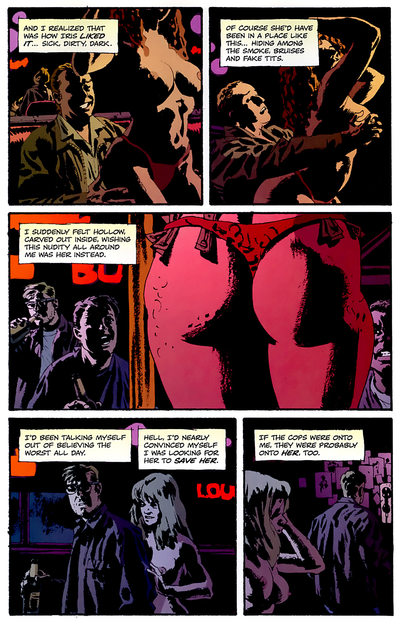 Read online Criminal (2008) comic -  Issue #6 - 24