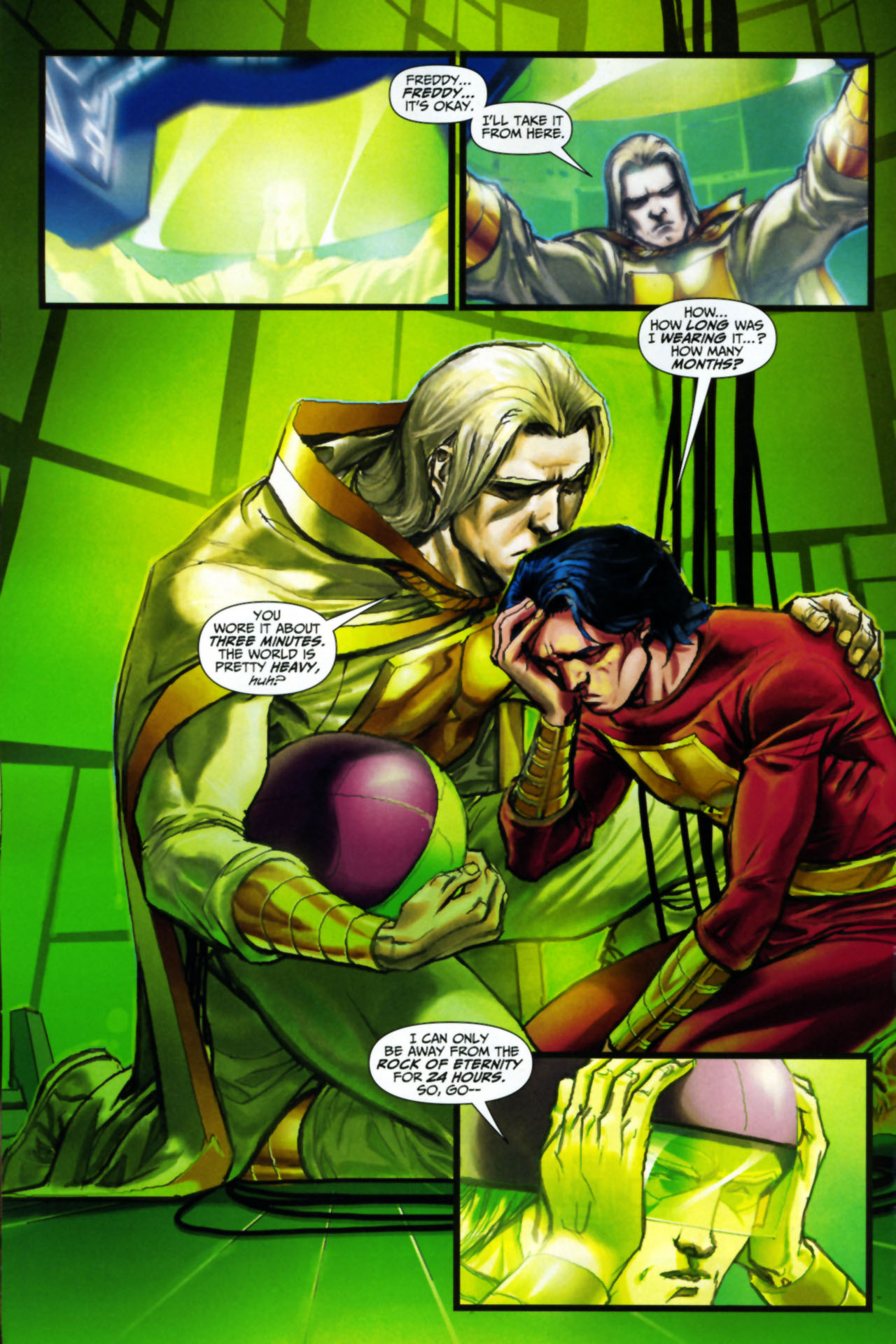 Read online Trials of Shazam comic -  Issue #8 - 10
