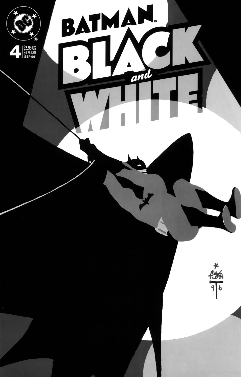 Batman Black and White (1996) 4 Page 1
