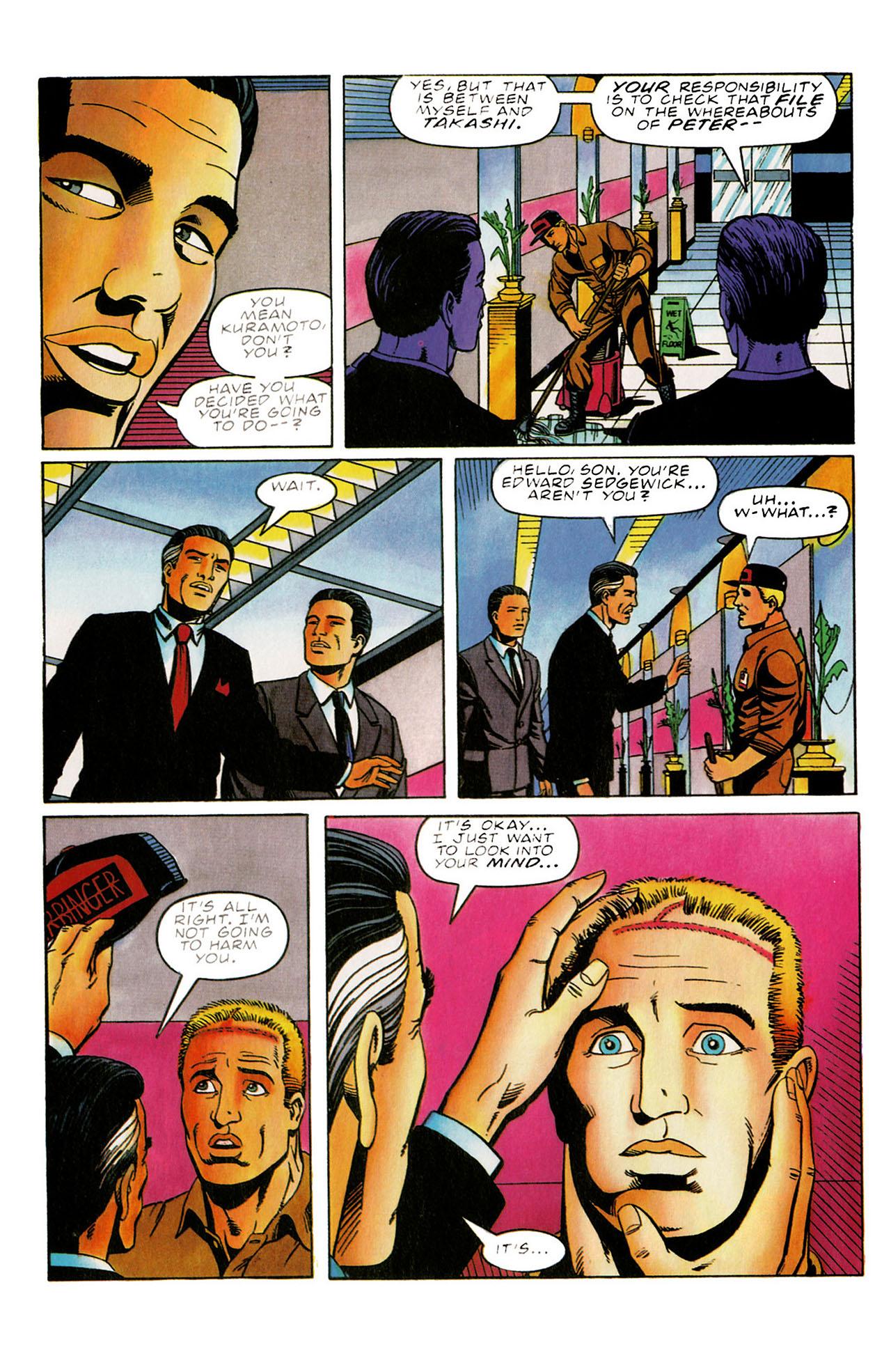 Read online Harbinger (1992) comic -  Issue #31 - 9