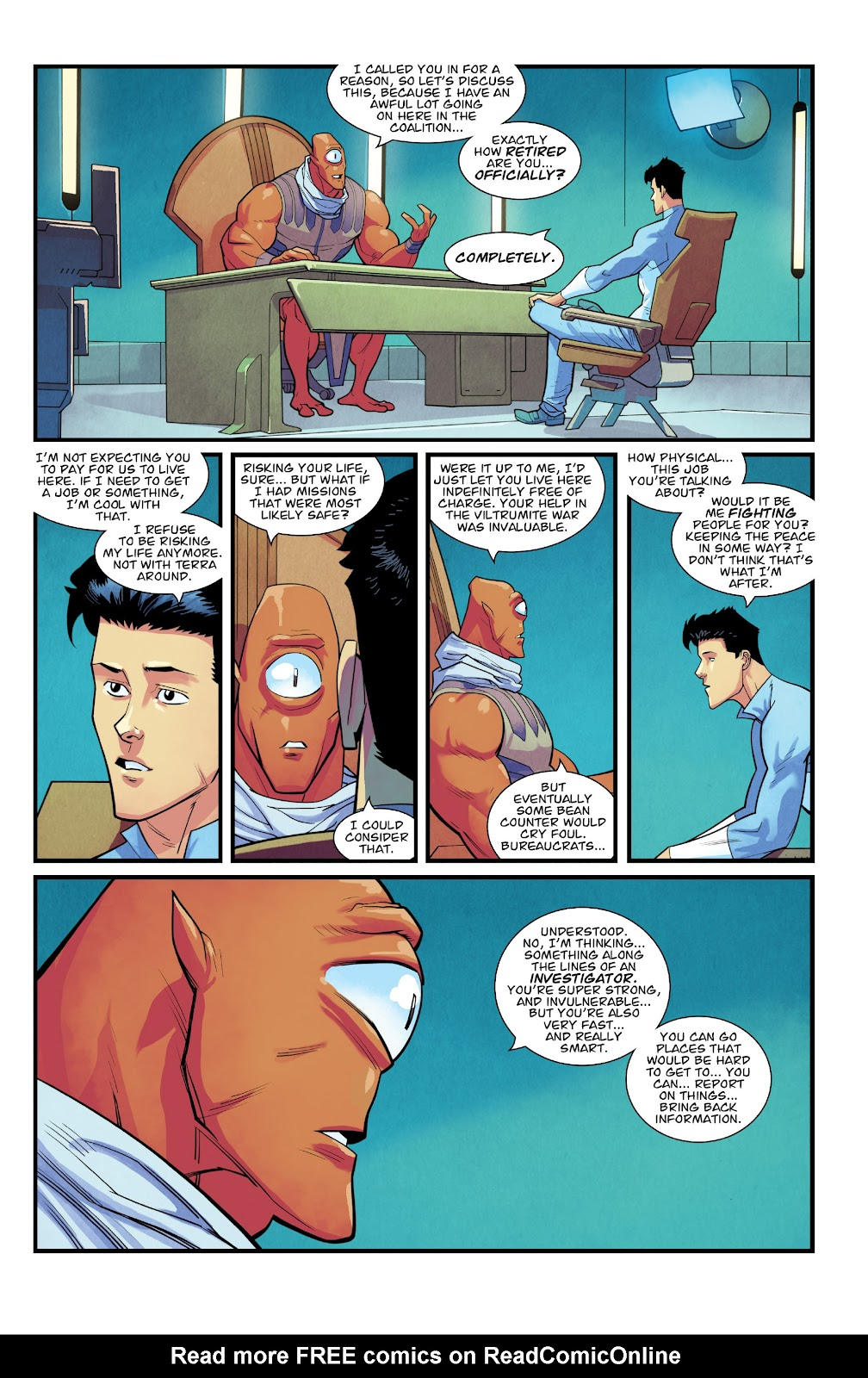 Invincible (2003) issue TPB 21 - Modern Family - Page 100
