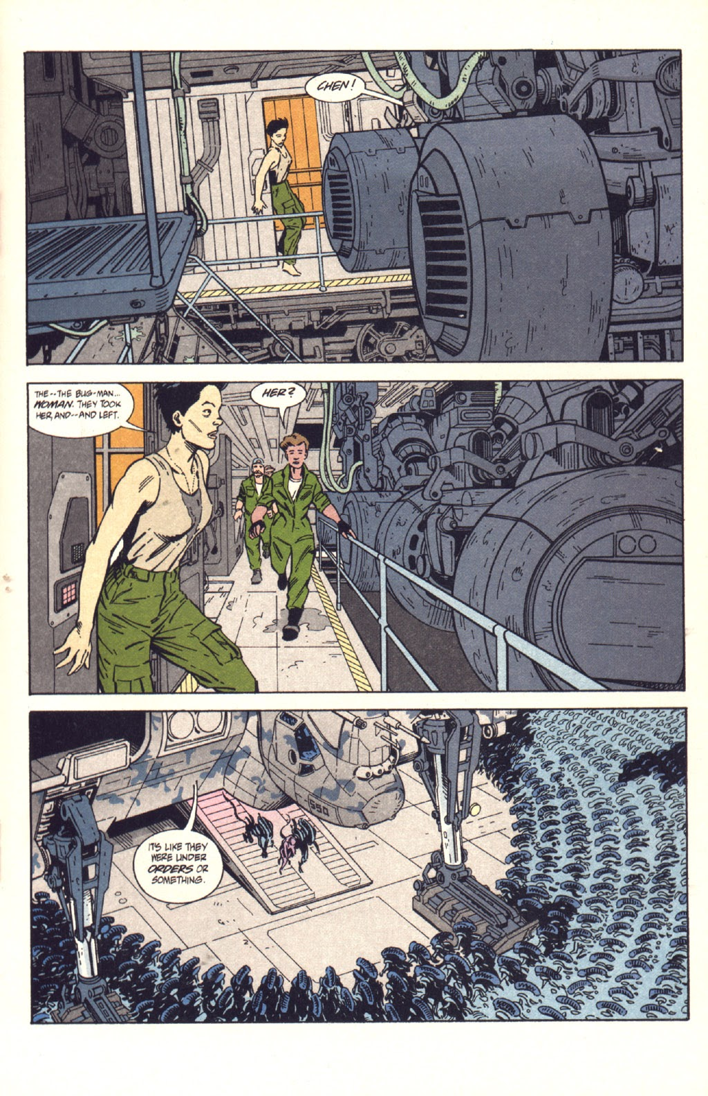 Read online Aliens: Colonial Marines comic -  Issue #9 - 20