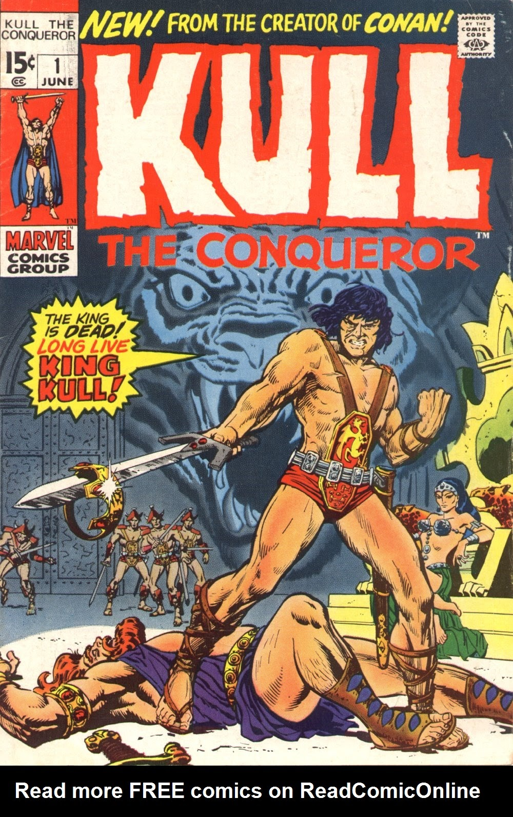 Kull, the Conqueror (1971) issue 1 - Page 1