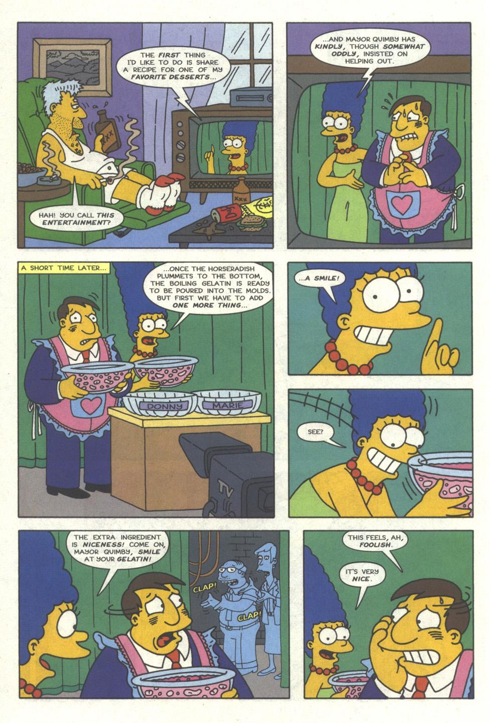 Read online Simpsons Comics comic -  Issue #25 - 13