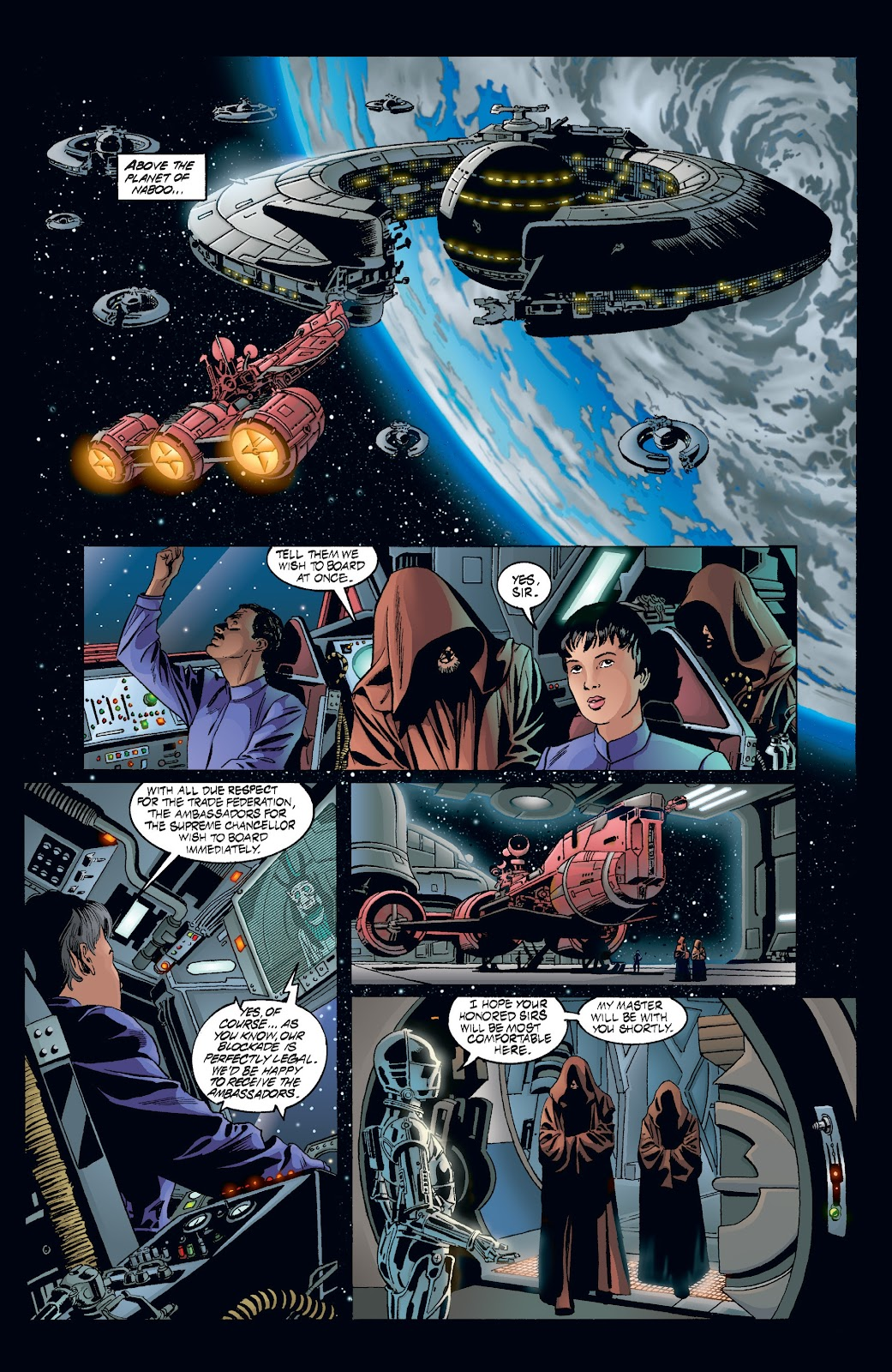 Read online Star Wars Legends: Rise of the Sith - Epic Collection comic -  Issue # TPB 2 (Part 3) - 40