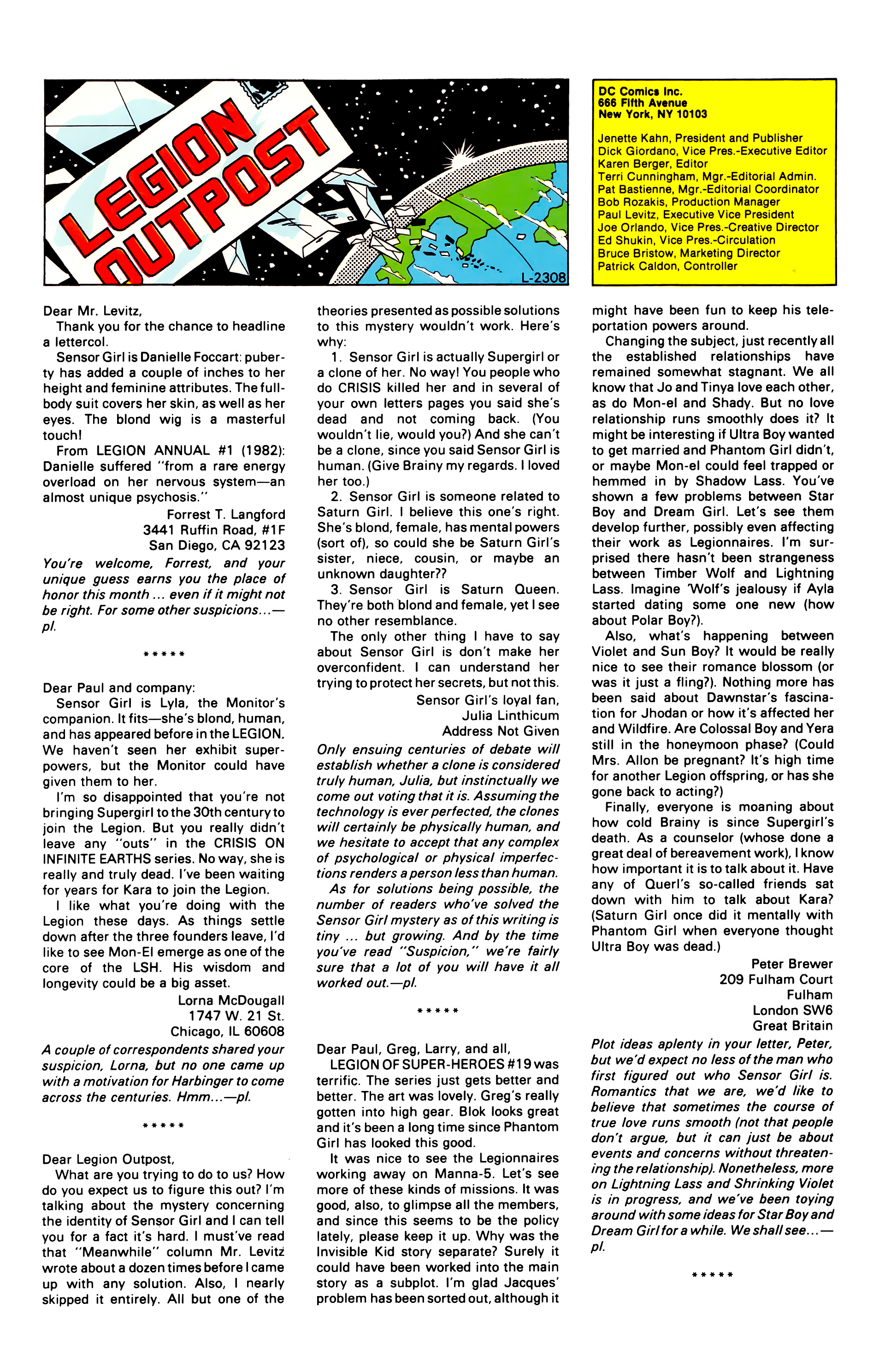 Legion of Super-Heroes (1984) 24 Page 30