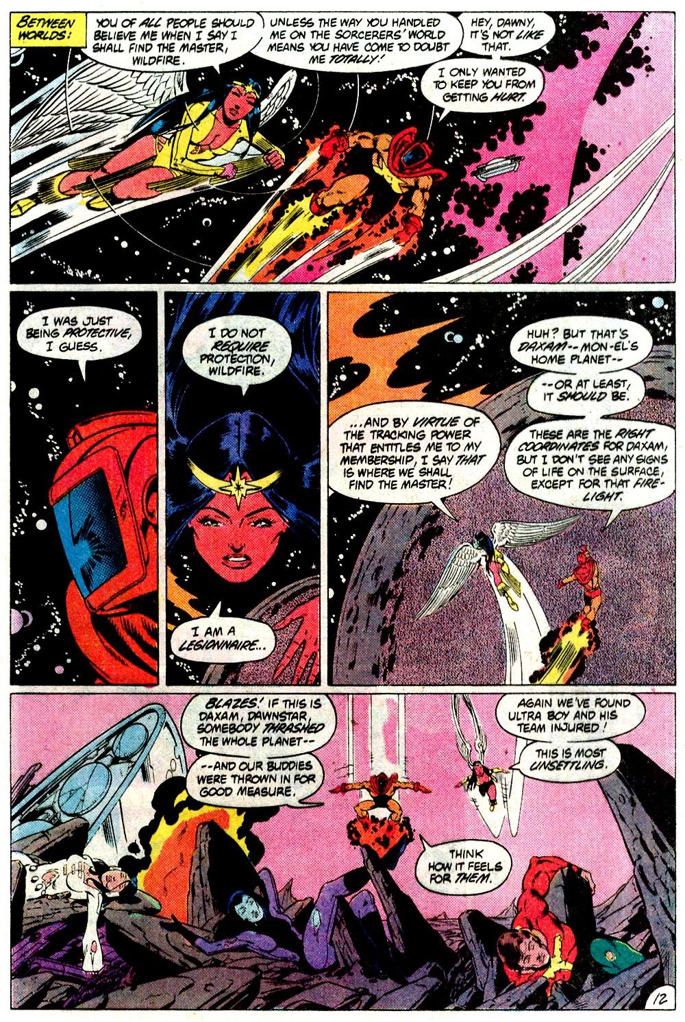 Legion of Super-Heroes (1980) 293 Page 12