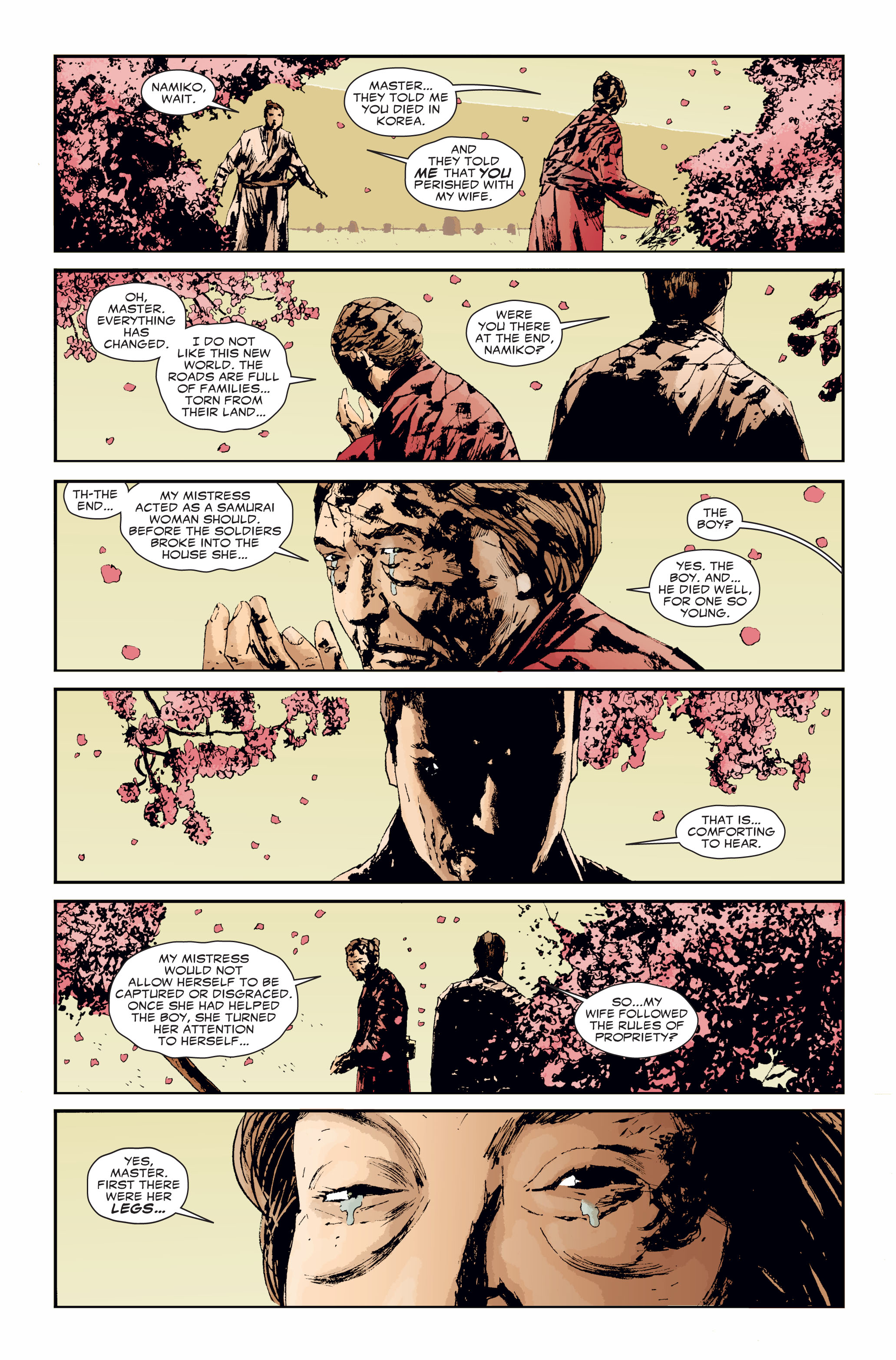 Read online 5 Ronin (2011) comic -  Issue #3 - 8